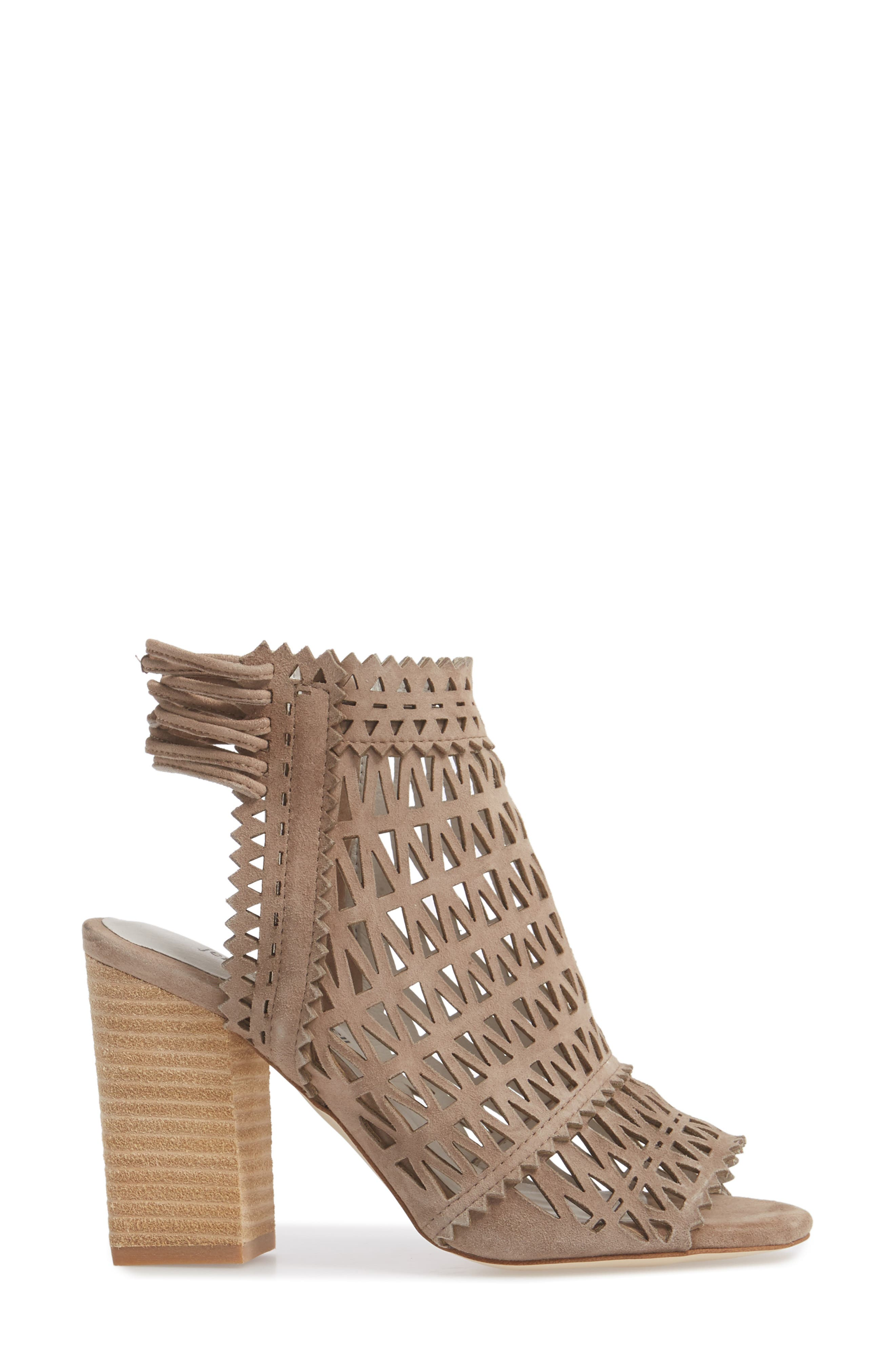 Ottawa Sandal,                             Alternate thumbnail 3, color,                             TAUPE SUEDE