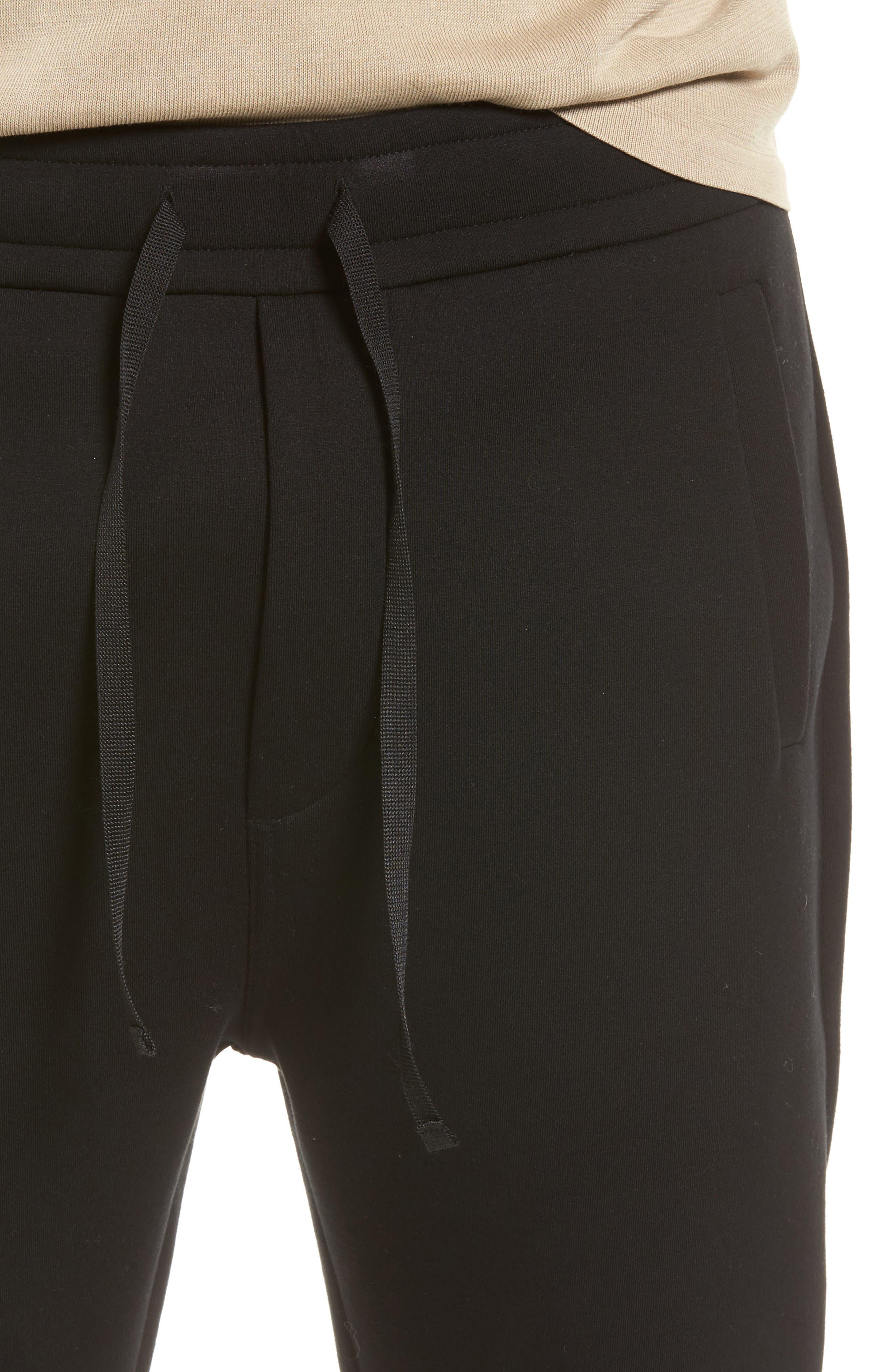 VINCE,                             Tech Slim Fit Track Pants,                             Alternate thumbnail 4, color,                             001