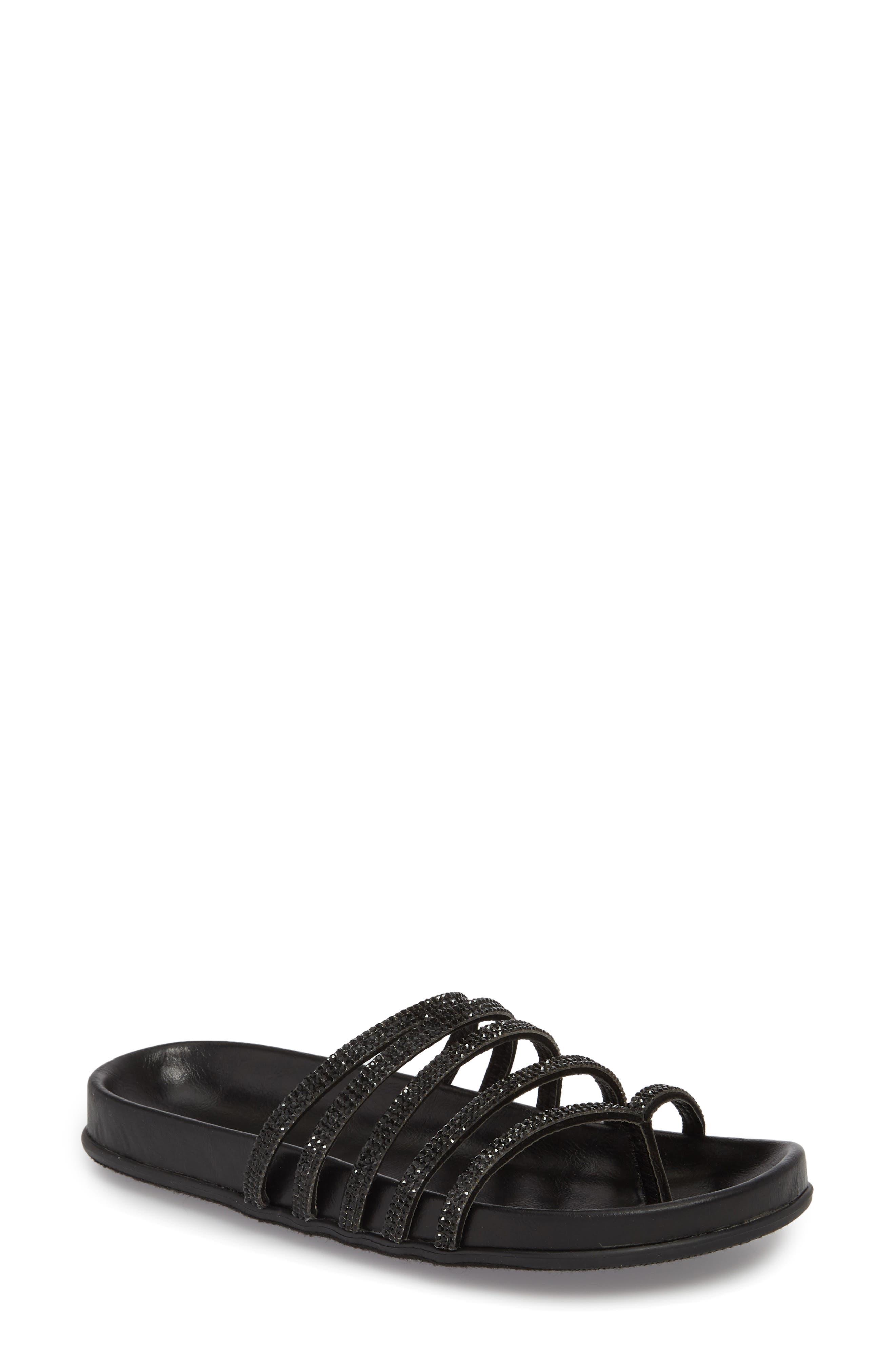 Kendari Sandal,                         Main,                         color, BLACK