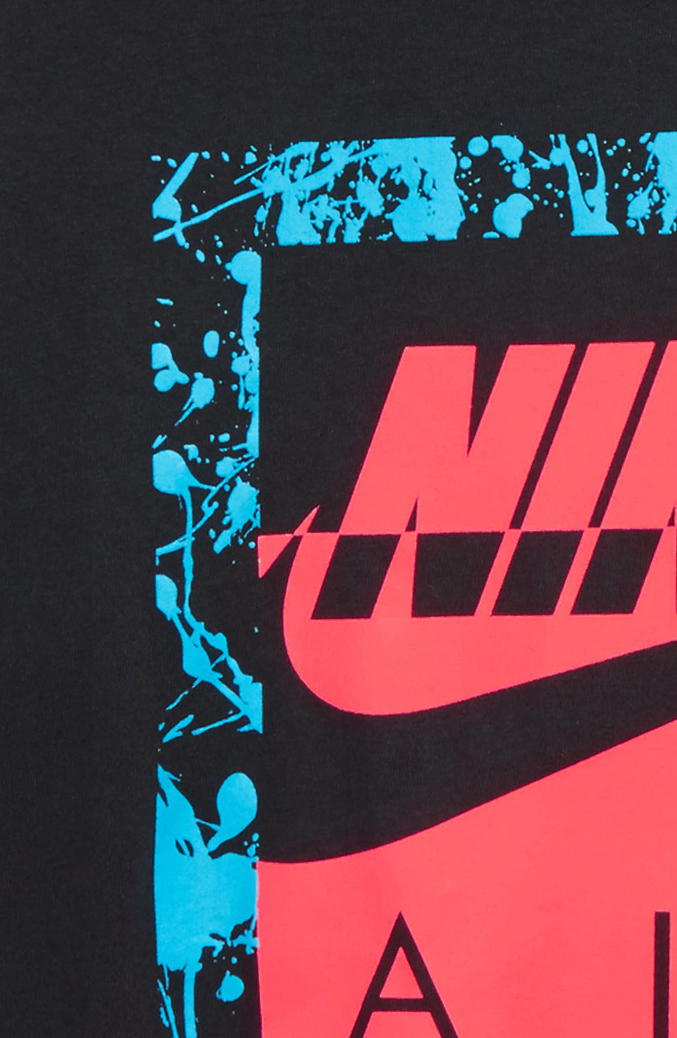 NIKE,                             Air 180 Graphic T-Shirt,                             Alternate thumbnail 2, color,                             010