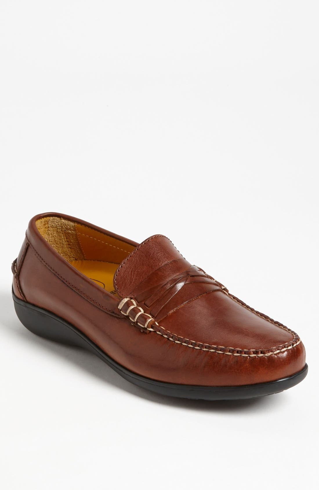 'Truman' Loafer,                         Main,                         color, CHESTNUT