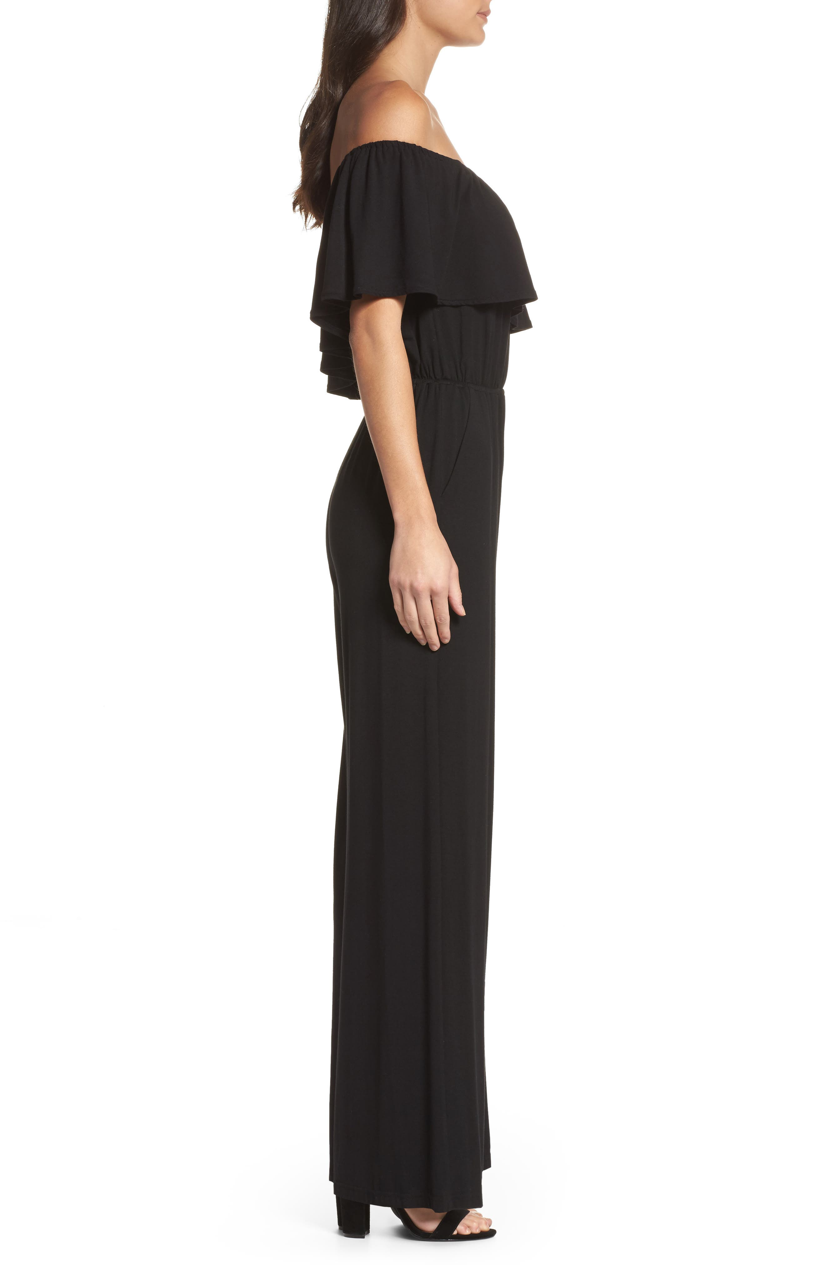Mayana Jumpsuit,                             Alternate thumbnail 3, color,                             001