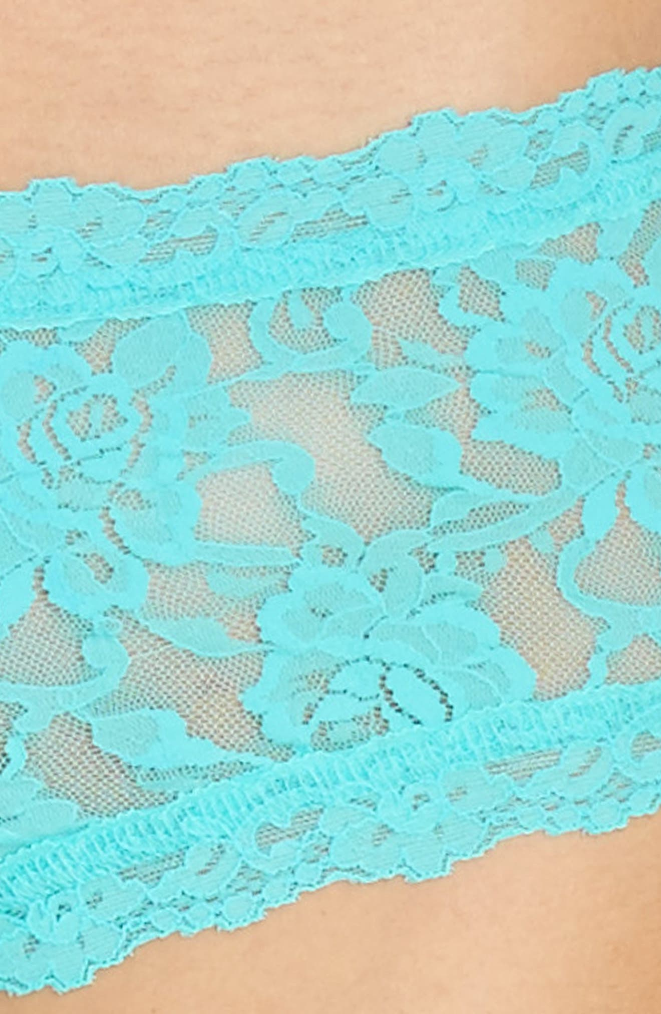 'Signature Lace' Boyshorts,                             Alternate thumbnail 370, color,