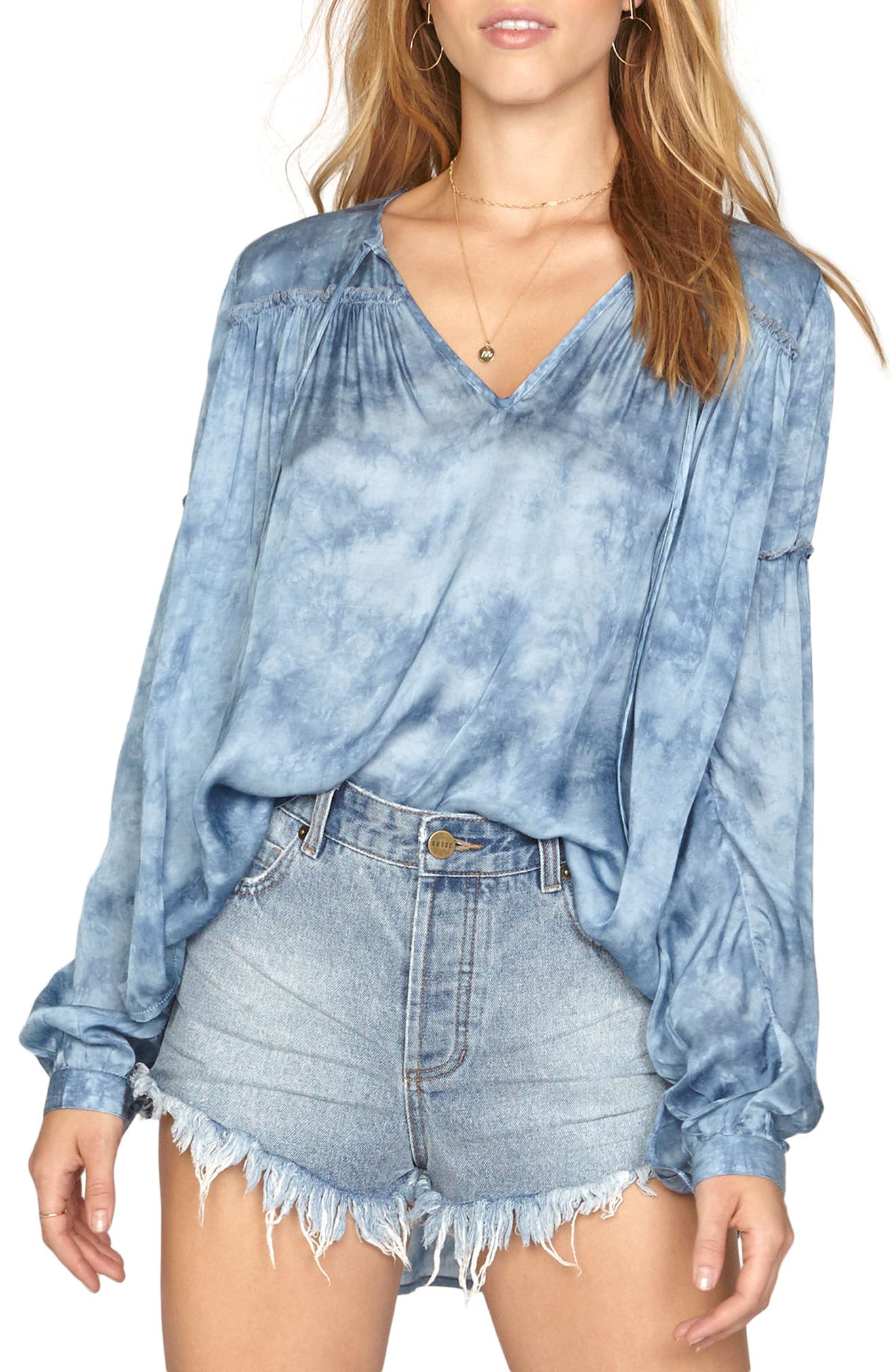 Washed Out Top,                         Main,                         color,