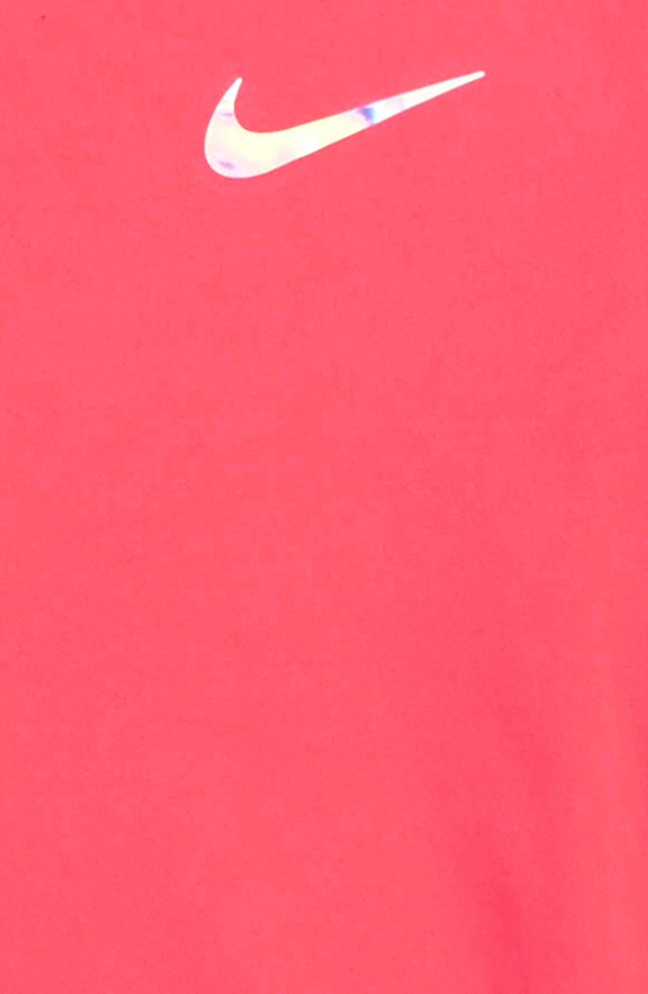 Dry Peplum Tunic,                             Alternate thumbnail 3, color,                             RACER PINK
