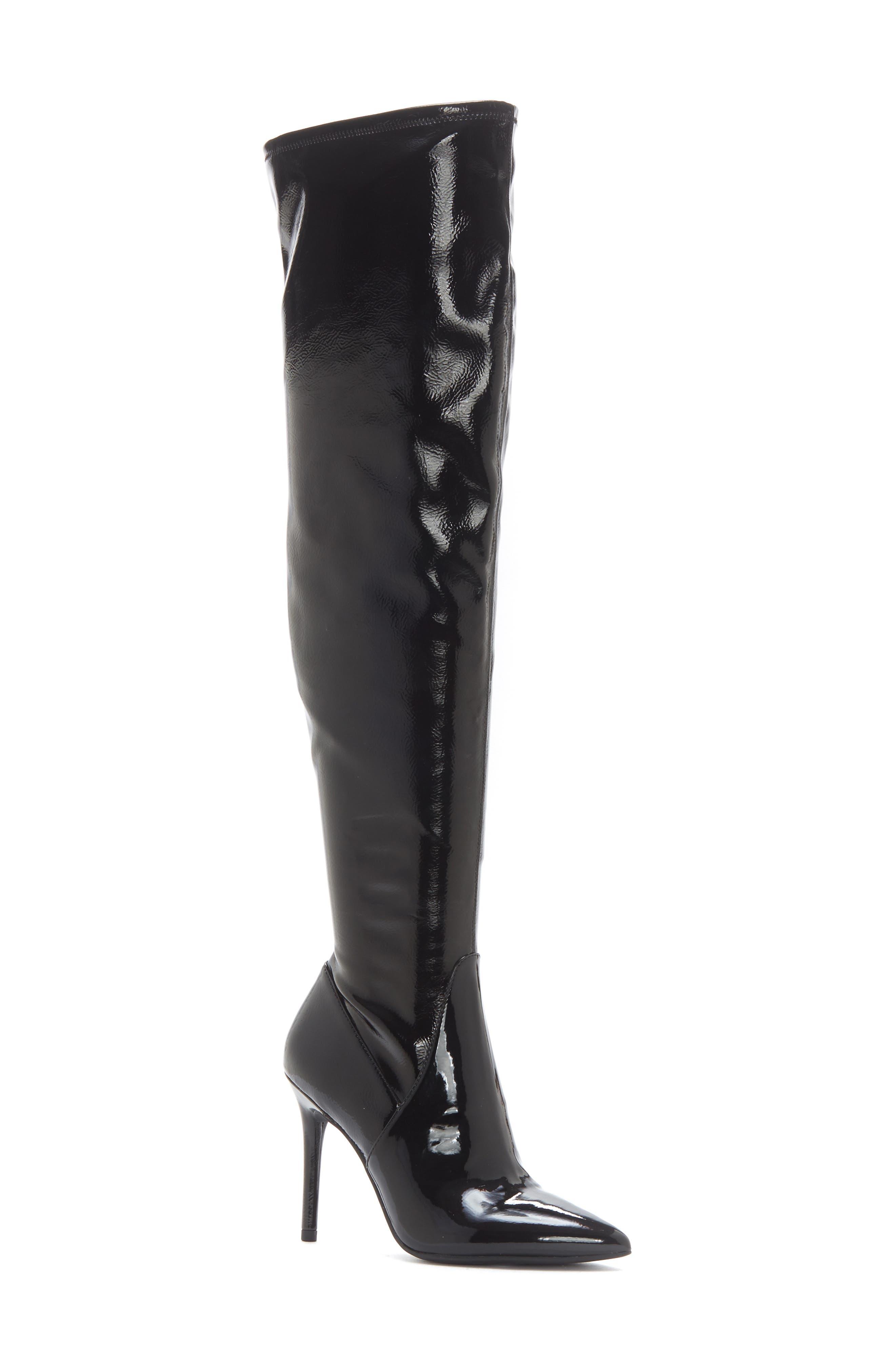Jessica Simpson Laken Over The Knee Boot- Black