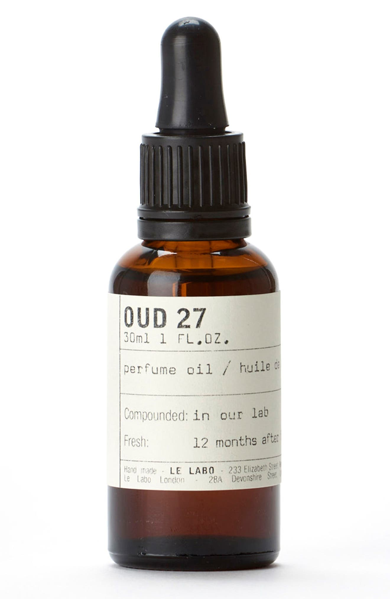 'Oud 27' Perfume Oil,                             Main thumbnail 1, color,                             NO COLOR