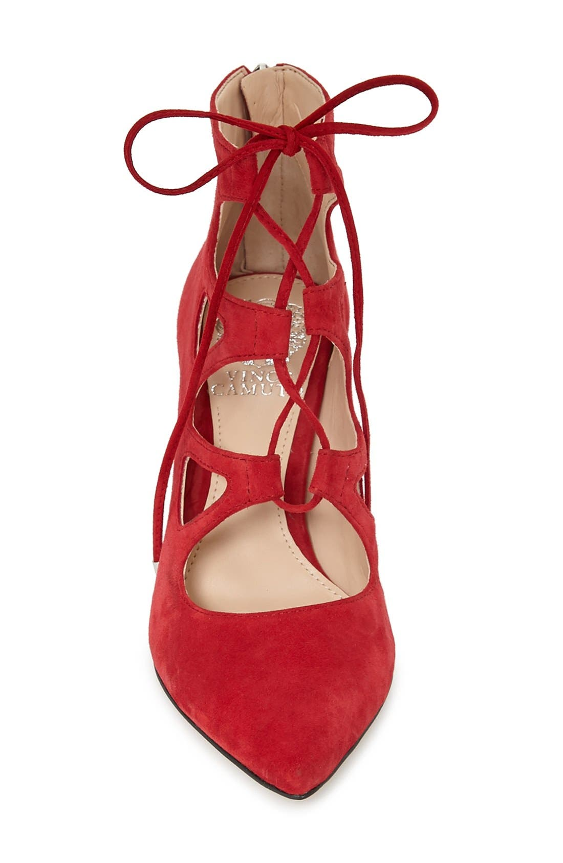 'Bodell' Lace Up Pump,                             Alternate thumbnail 20, color,