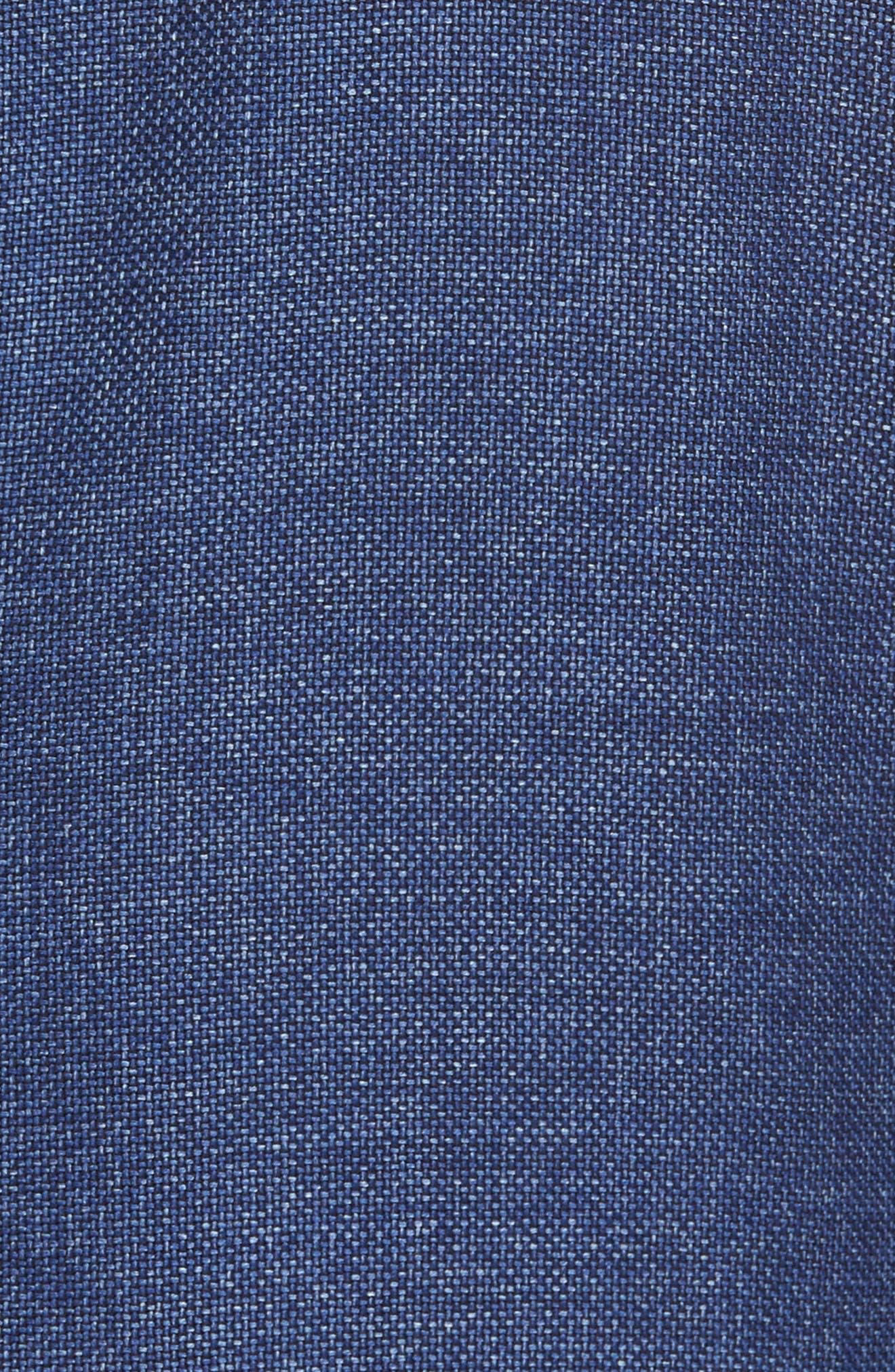 Trim Fit Wool Blazer,                             Alternate thumbnail 6, color,                             420