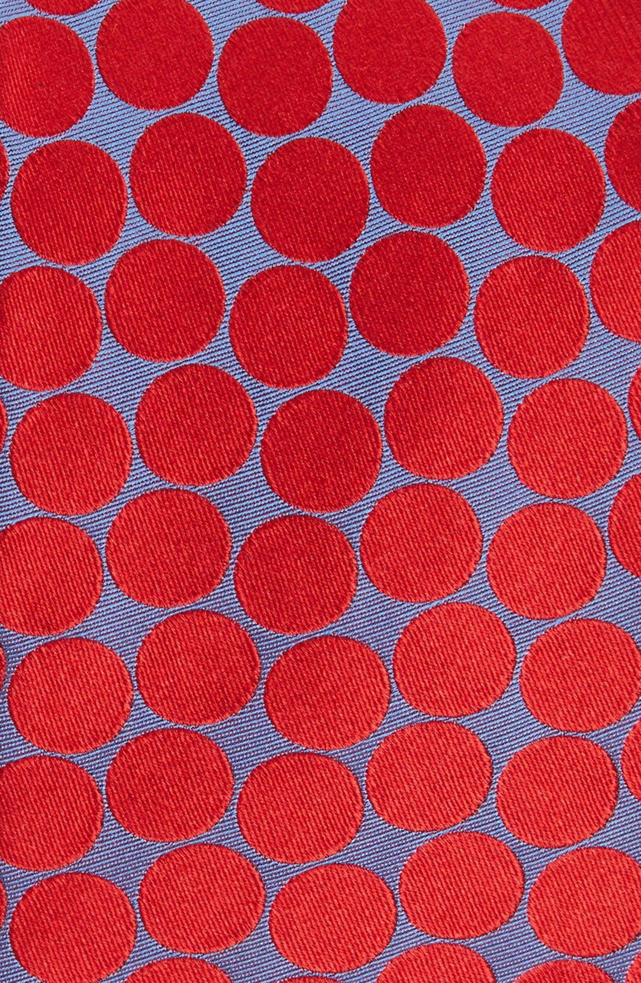 Spots II Silk Tie,                             Alternate thumbnail 4, color,
