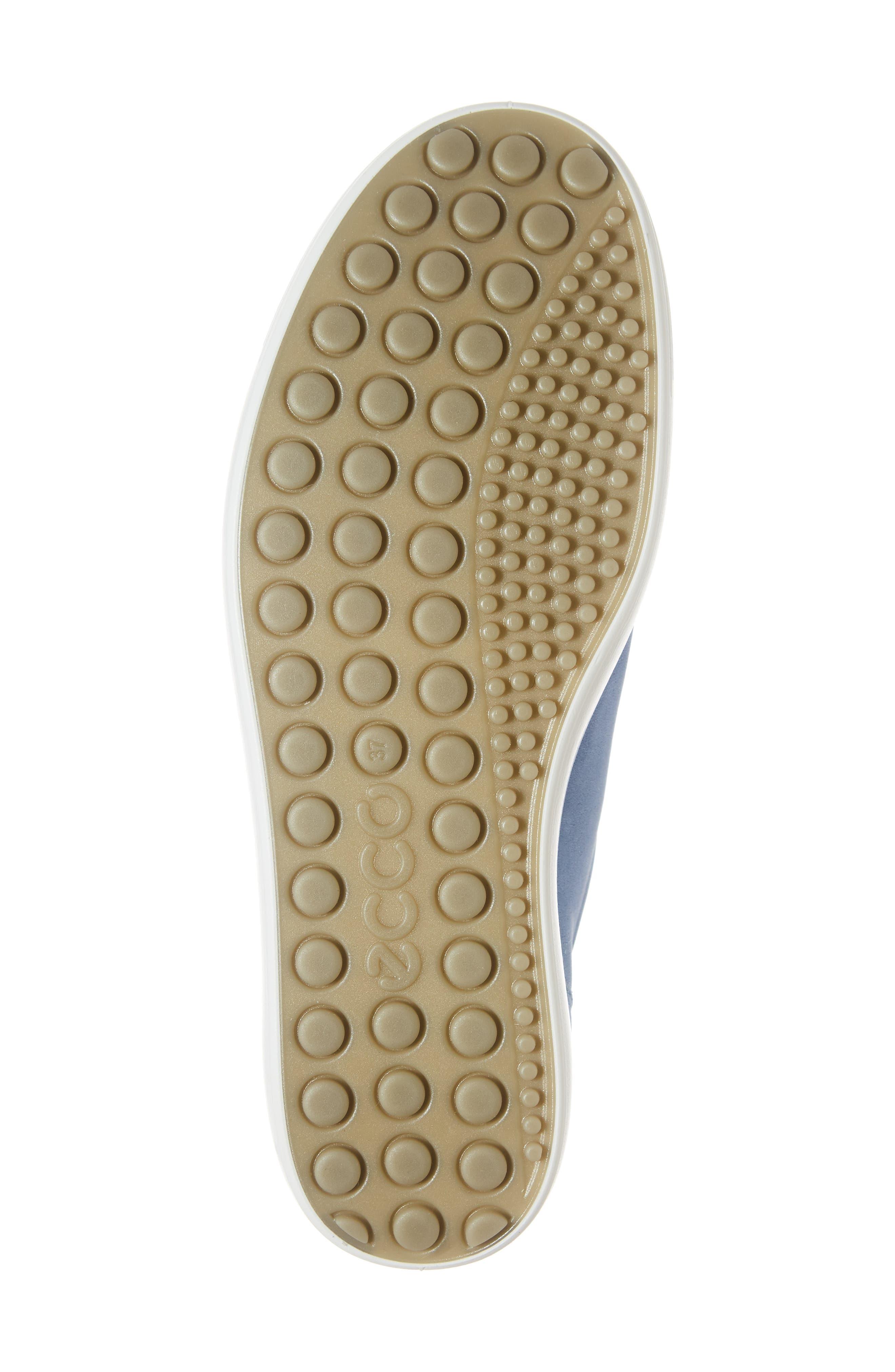 Soft 7 Sneaker,                             Alternate thumbnail 6, color,                             RETRO BLUE LEATHER