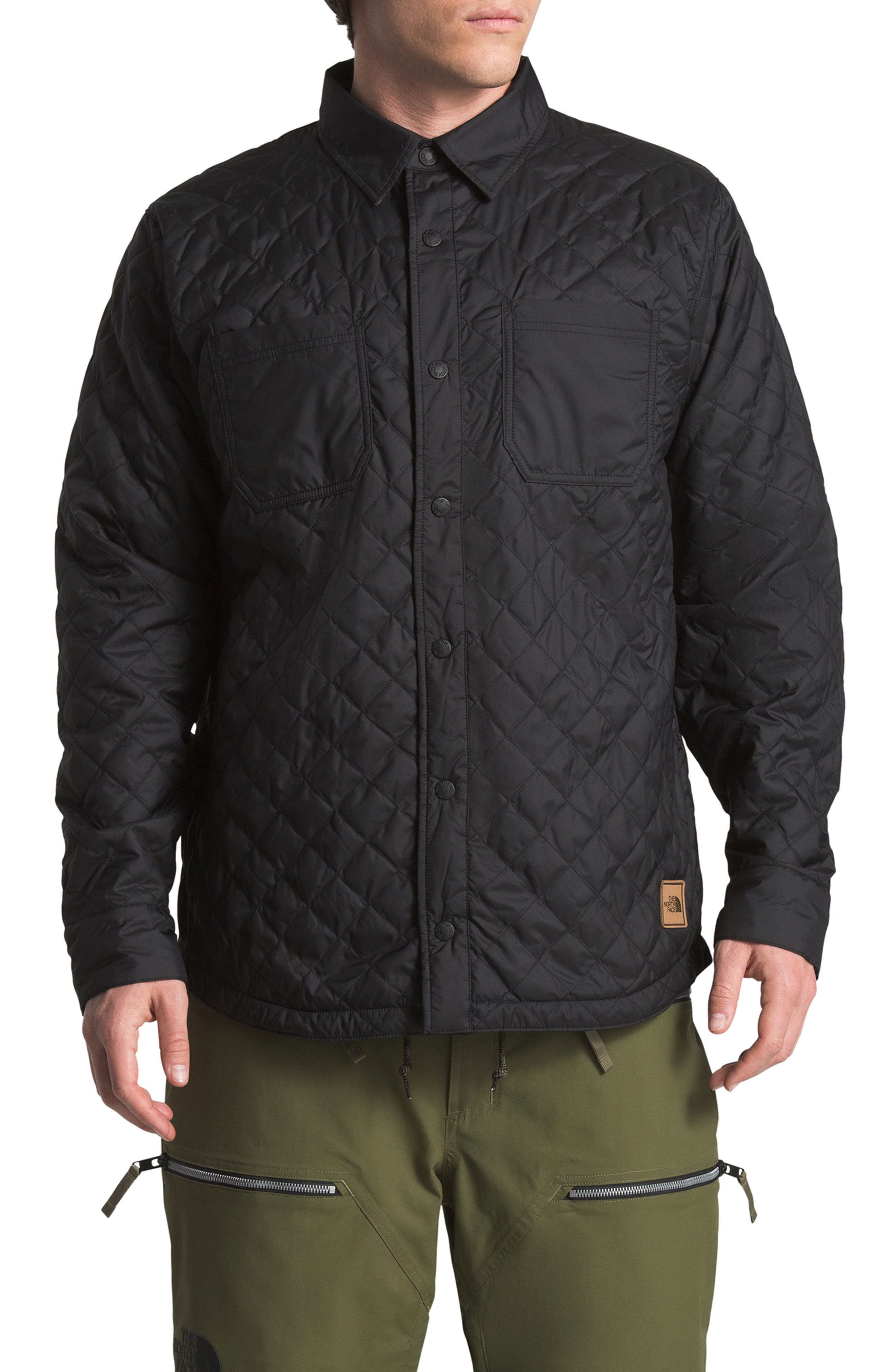 The North Face Fort Point Insulated Reversible Shirt Jacket, Black