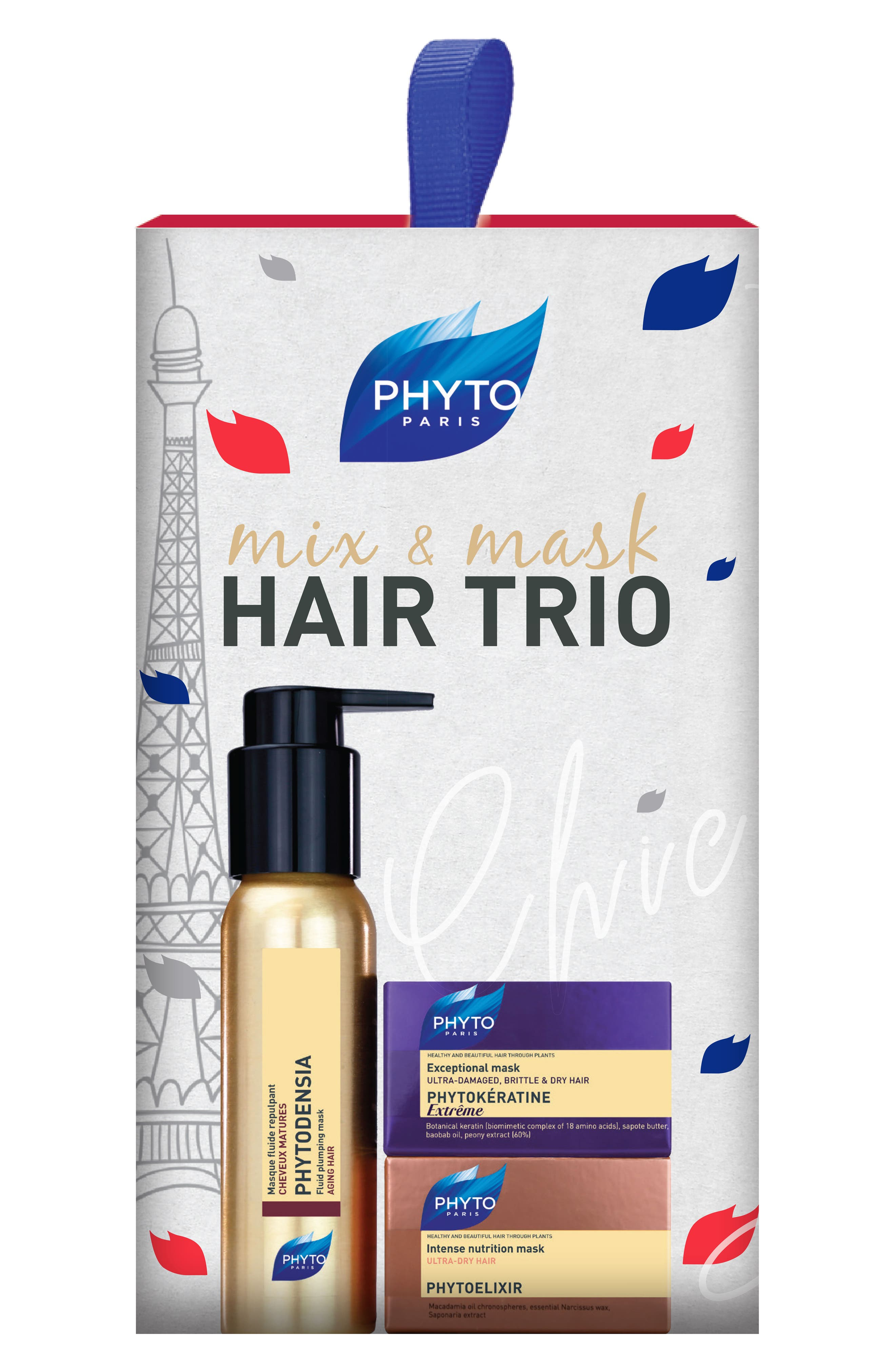 Mix & Mask Hair Trio,                         Main,                         color, 000
