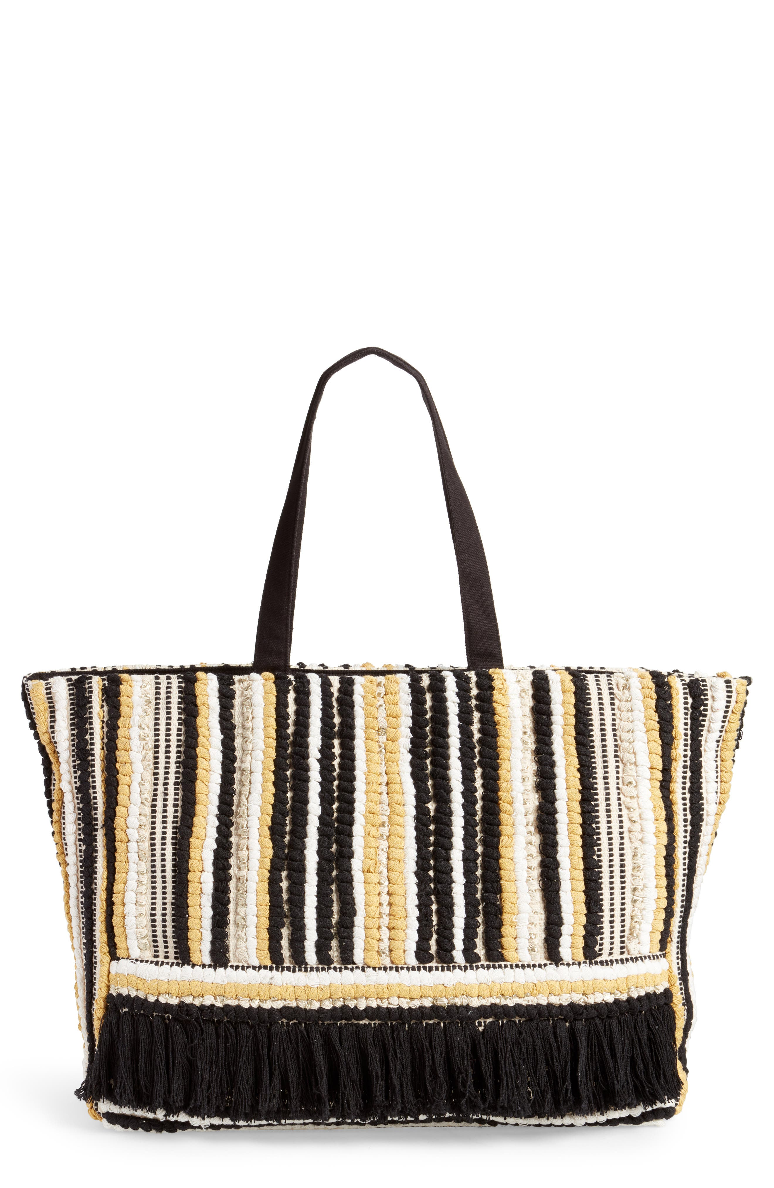 Tulemar Weekend Tote,                         Main,                         color, BLACK