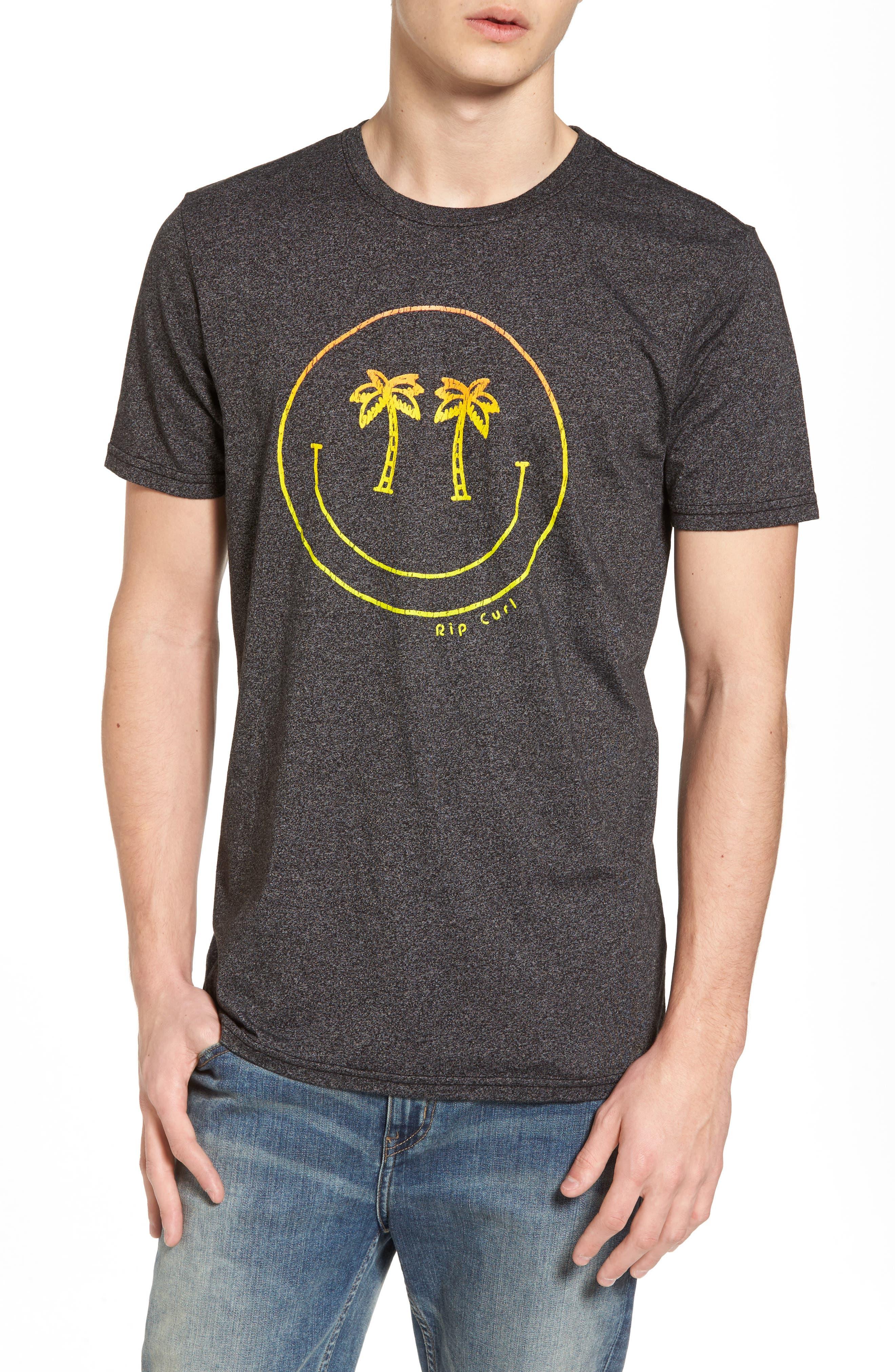 Palm Vision Mock Twist T-Shirt,                             Main thumbnail 1, color,
