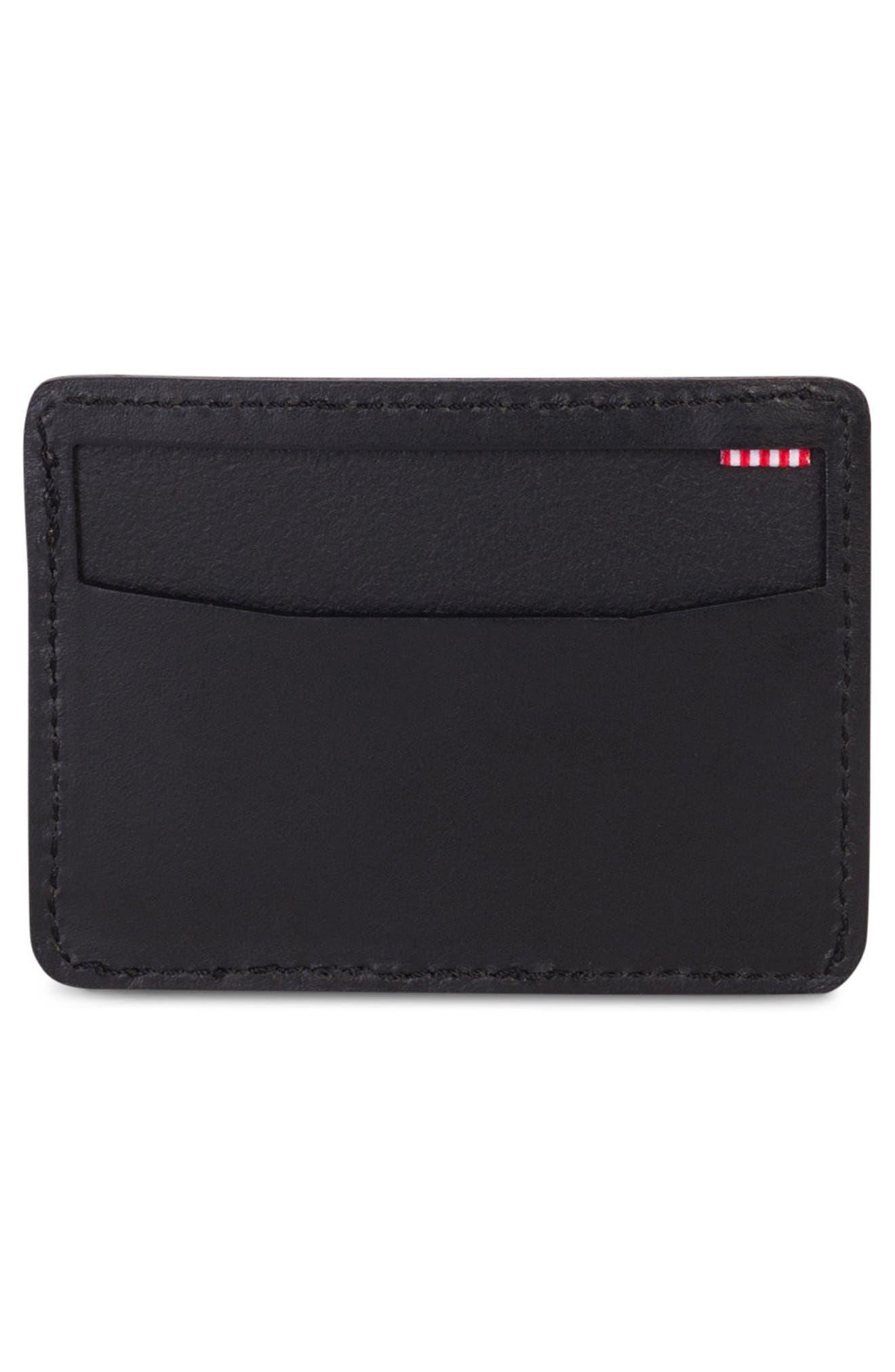 Ace Leather Card Case,                             Alternate thumbnail 2, color,                             001