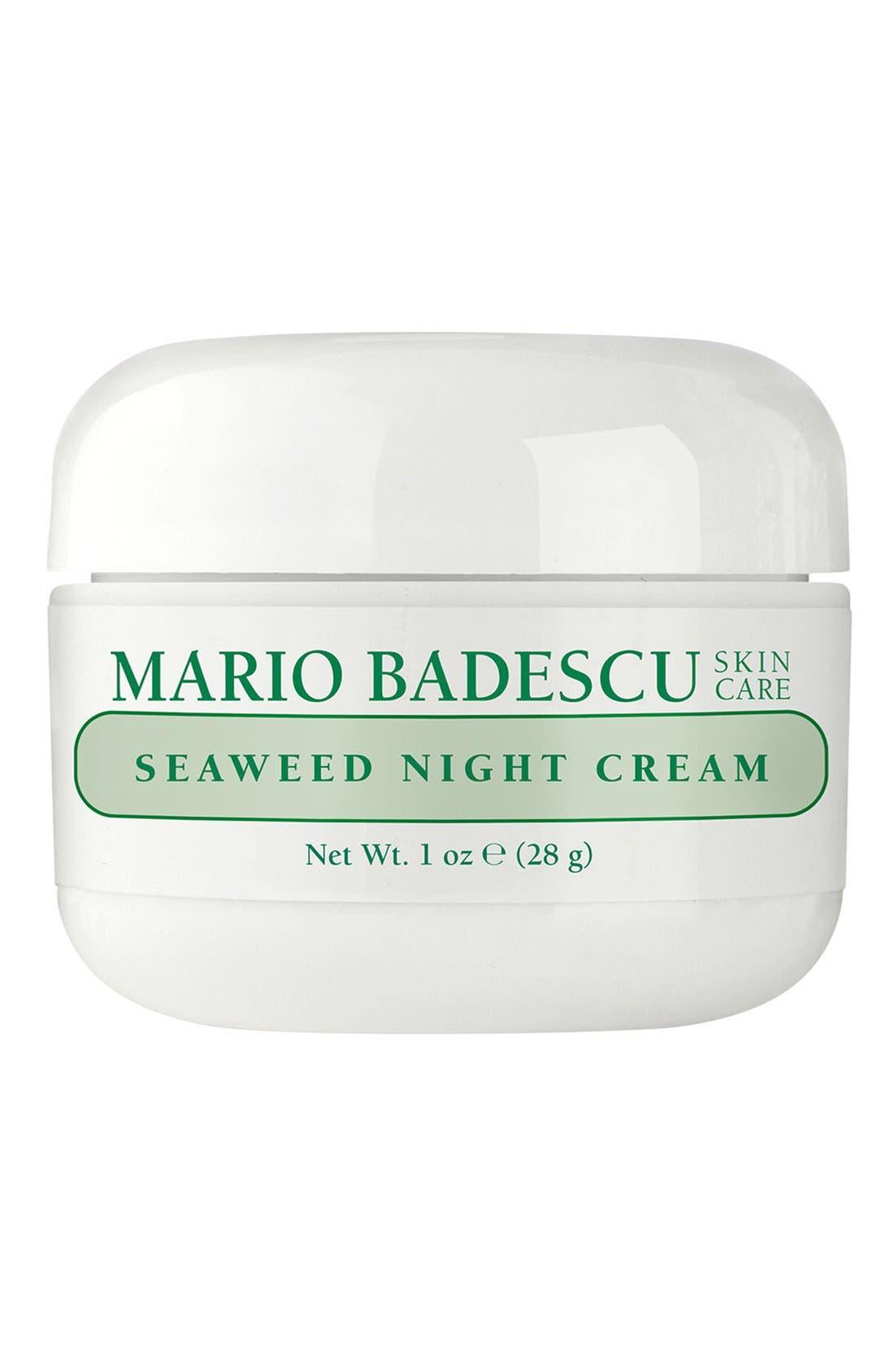 Seaweed Night Cream,                         Main,                         color, NONE