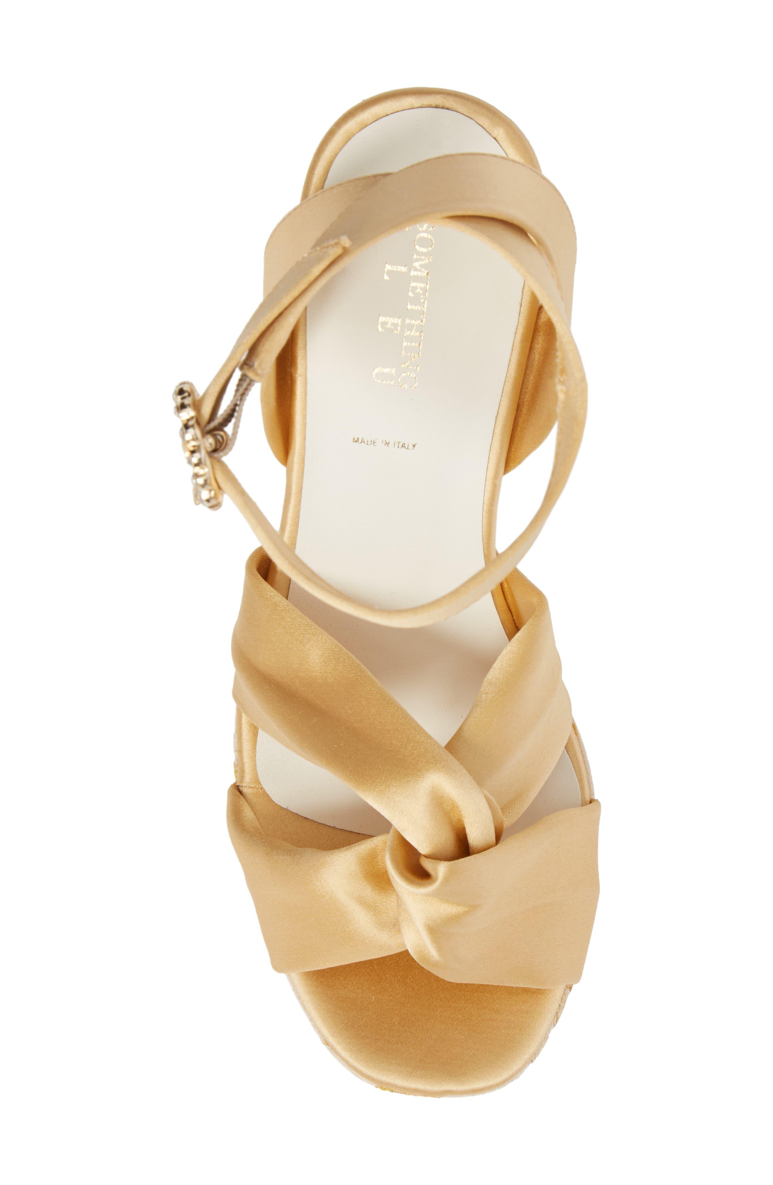 Serena Brocade Platform Sandal,                             Alternate thumbnail 19, color,