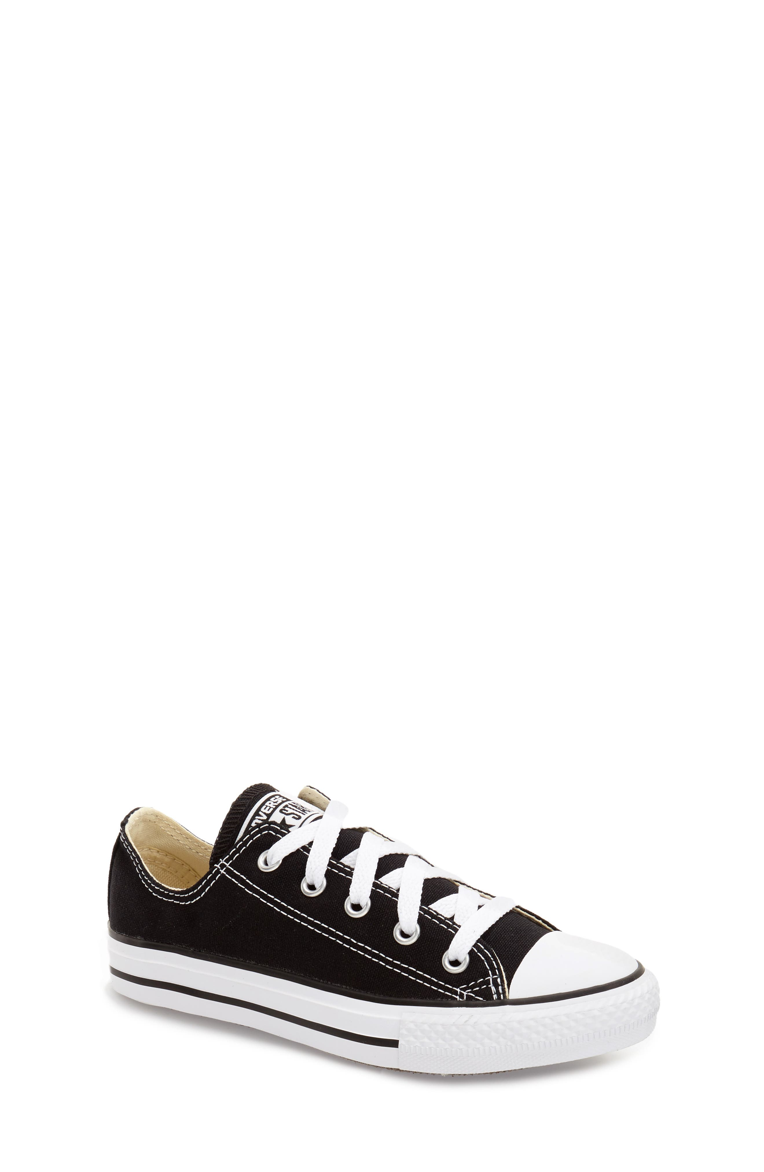 Chuck Taylor<sup>®</sup> Sneaker,                         Main,                         color, BLACK