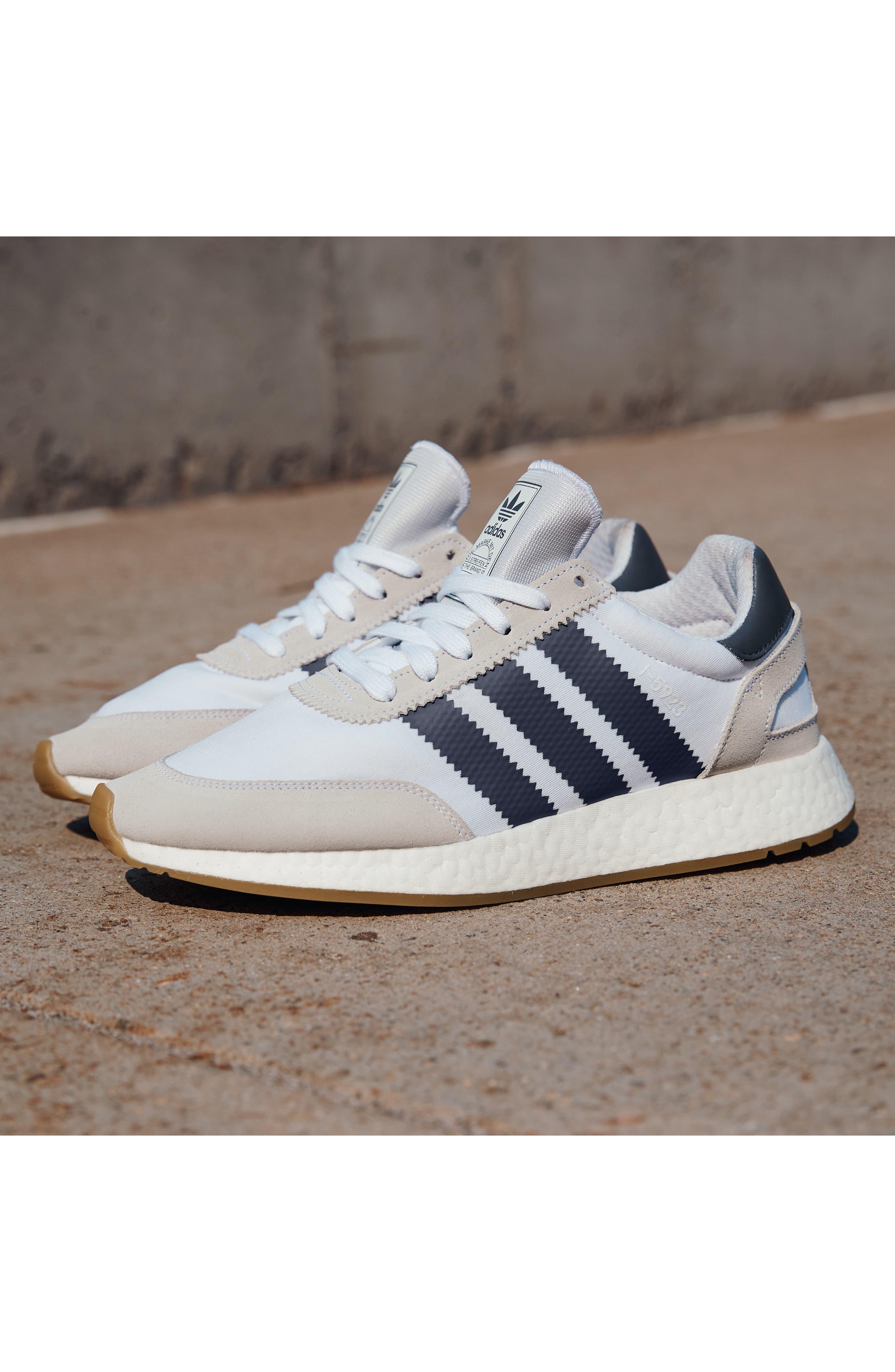 I-5923 Sneaker,                             Alternate thumbnail 8, color,                             BLACK/ BURGUNDY/ WHITE