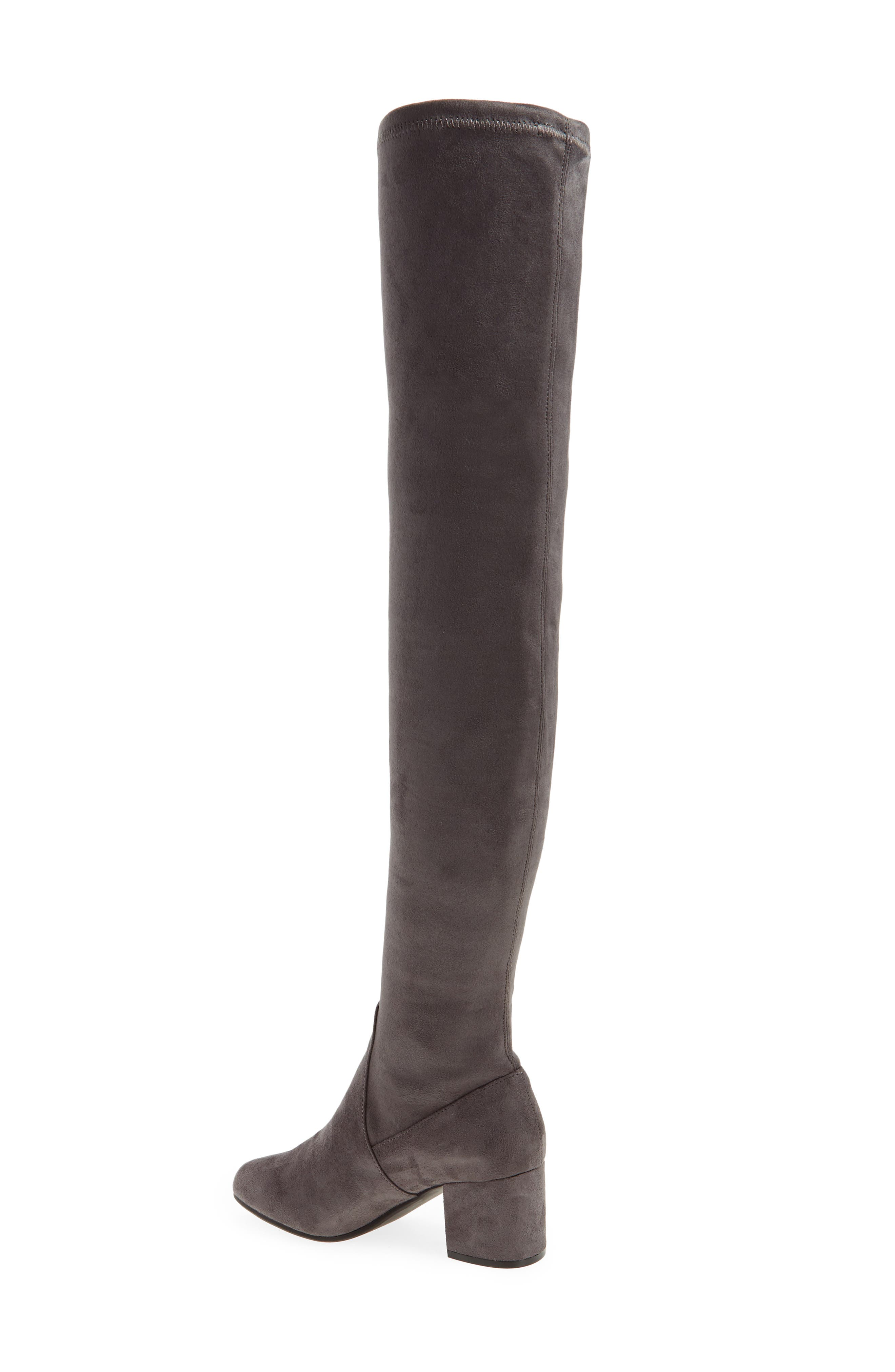 Isaac Over the Knee Boot,                             Alternate thumbnail 4, color,