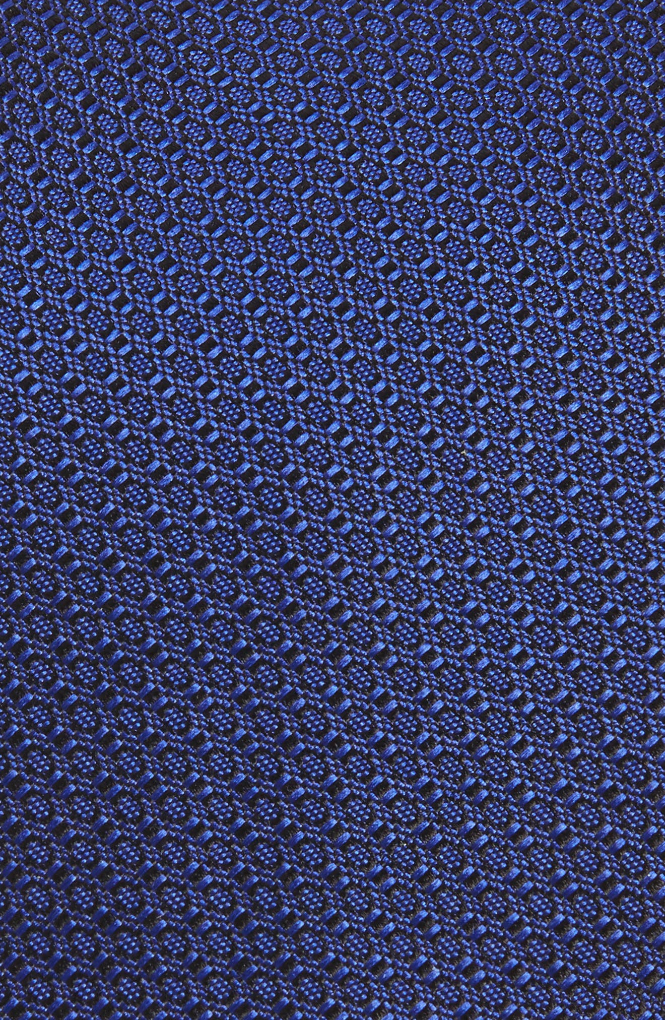 Solid Silk Tie,                             Alternate thumbnail 2, color,                             NAVY