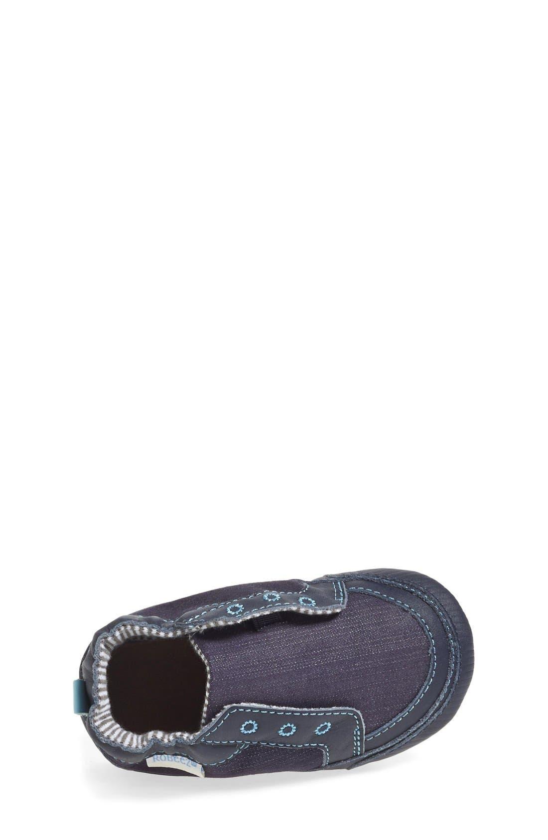 'Stylish Steve' Crib Shoe,                             Alternate thumbnail 3, color,                             NAVY