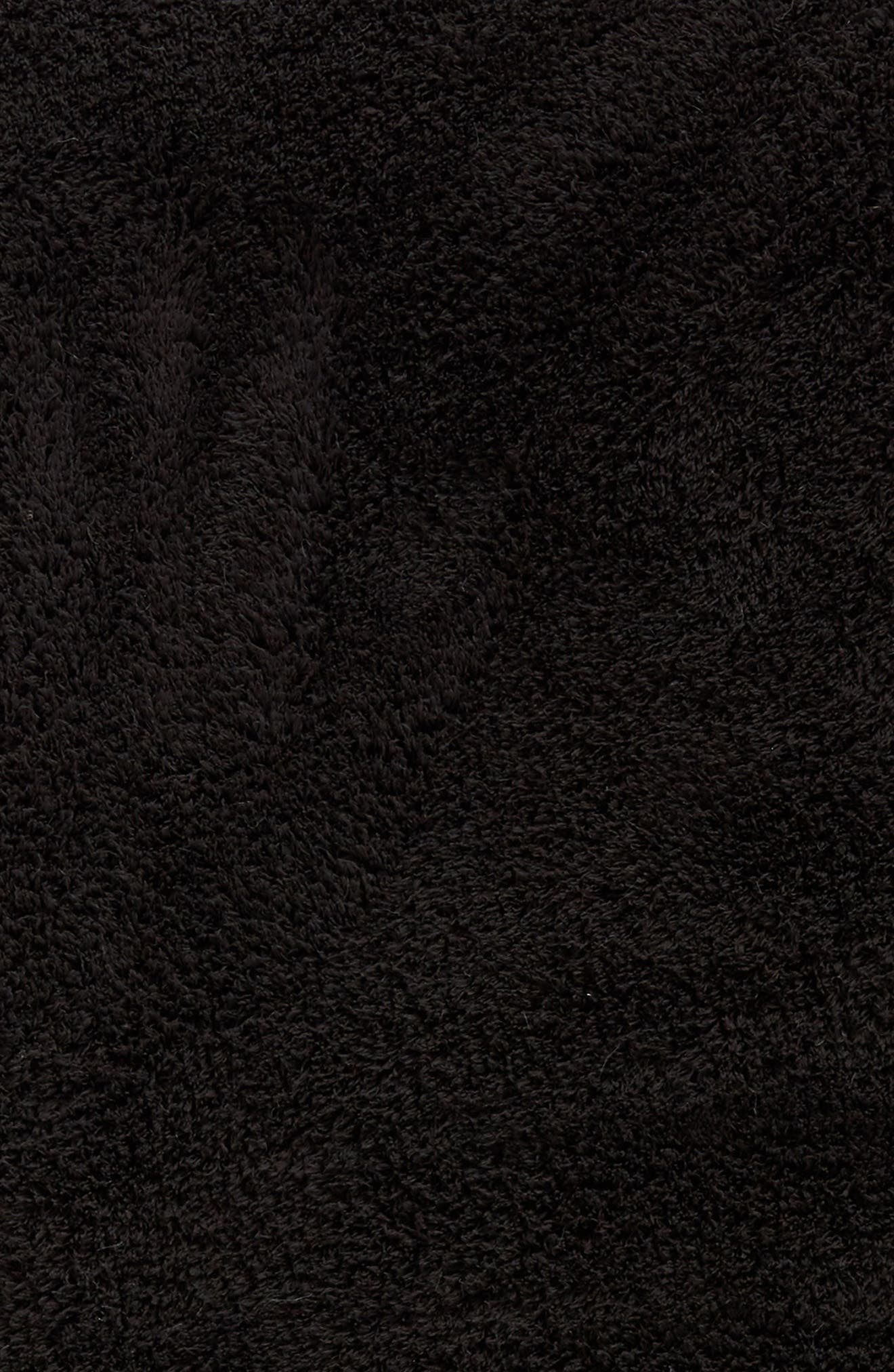Chenille Throw,                             Alternate thumbnail 2, color,                             ONYX