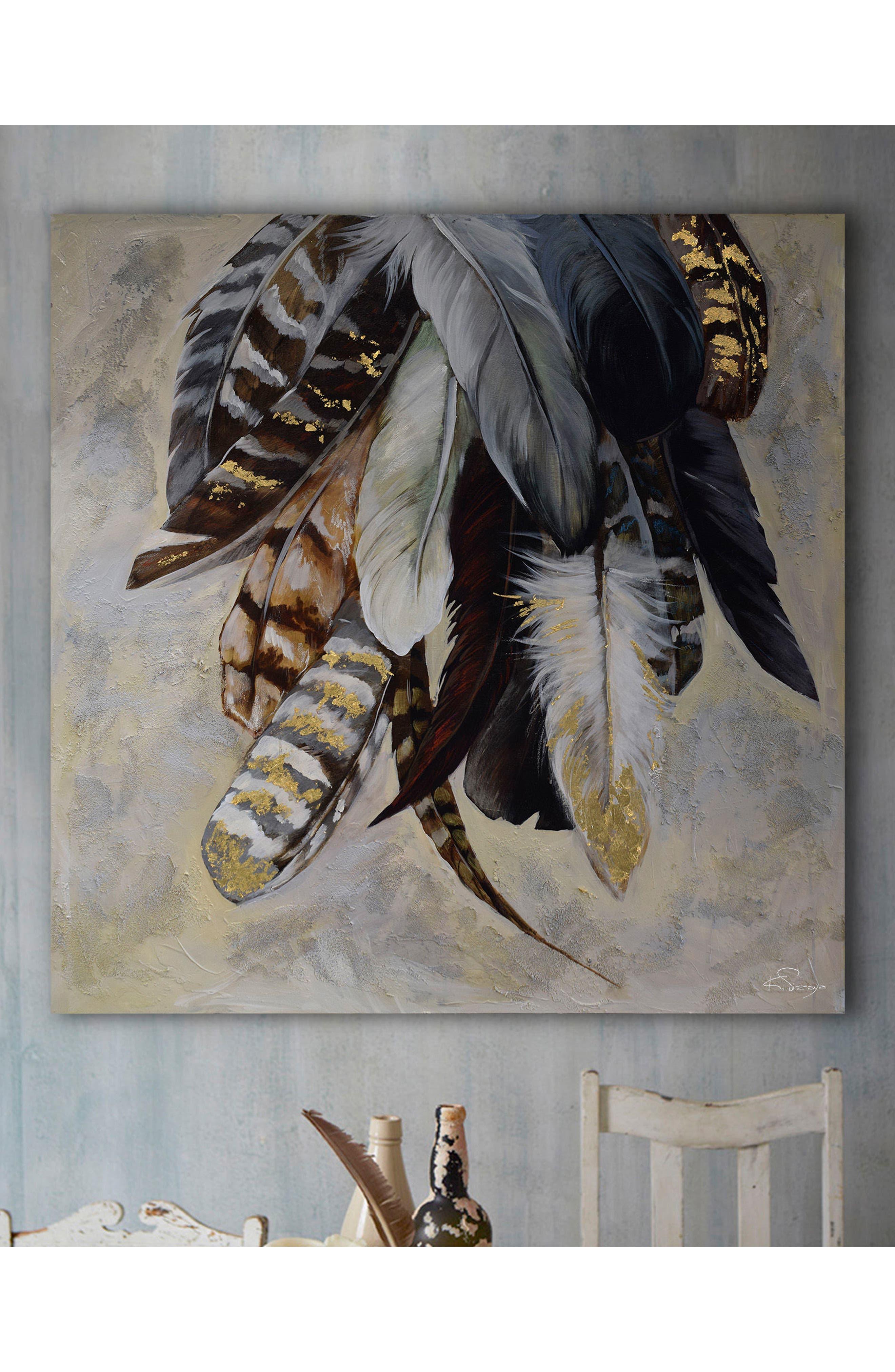 Feathertail Canvas Art,                             Alternate thumbnail 4, color,                             200