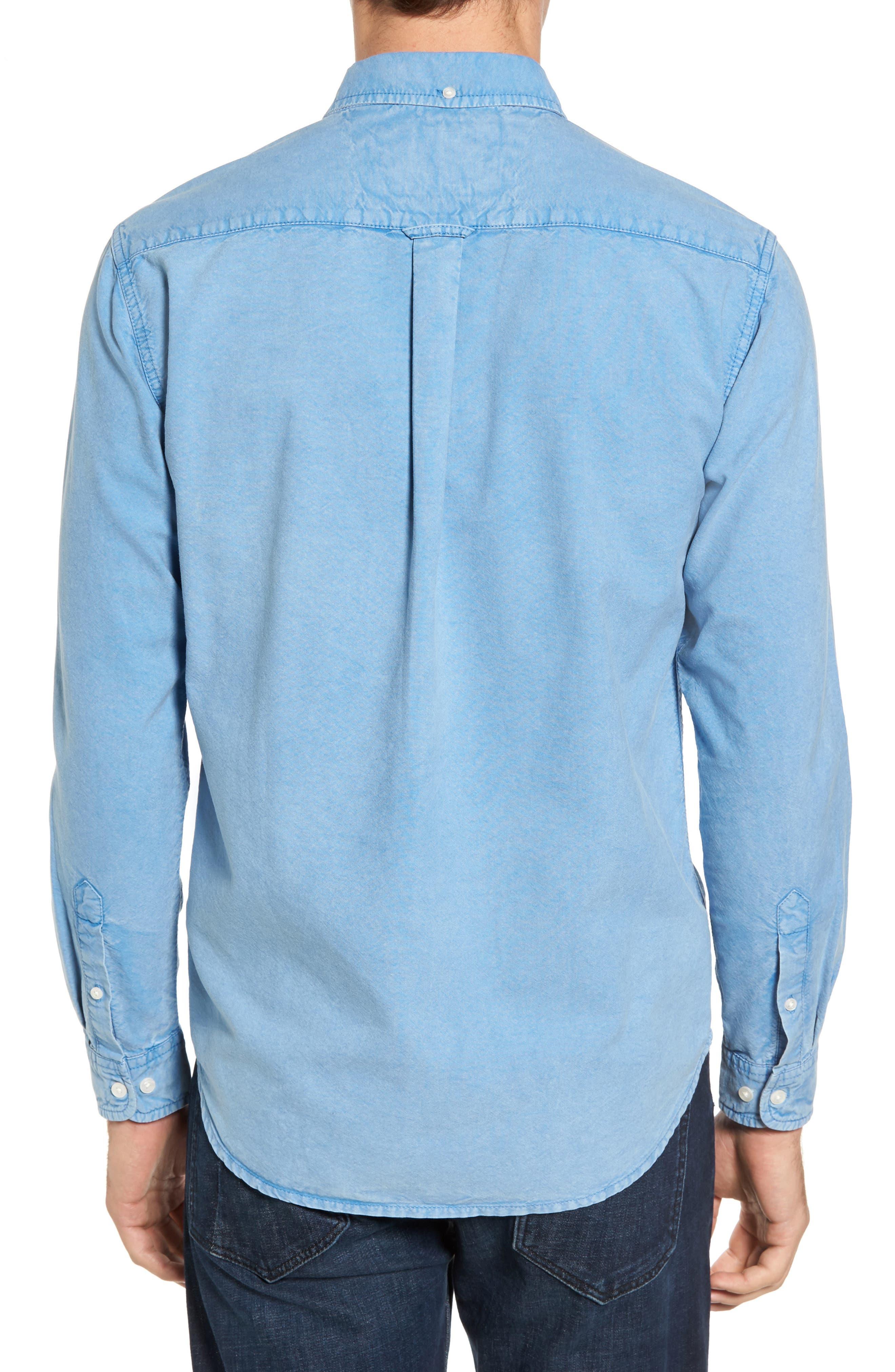 Regular Fit Oxford Sport Shirt,                             Alternate thumbnail 2, color,                             460