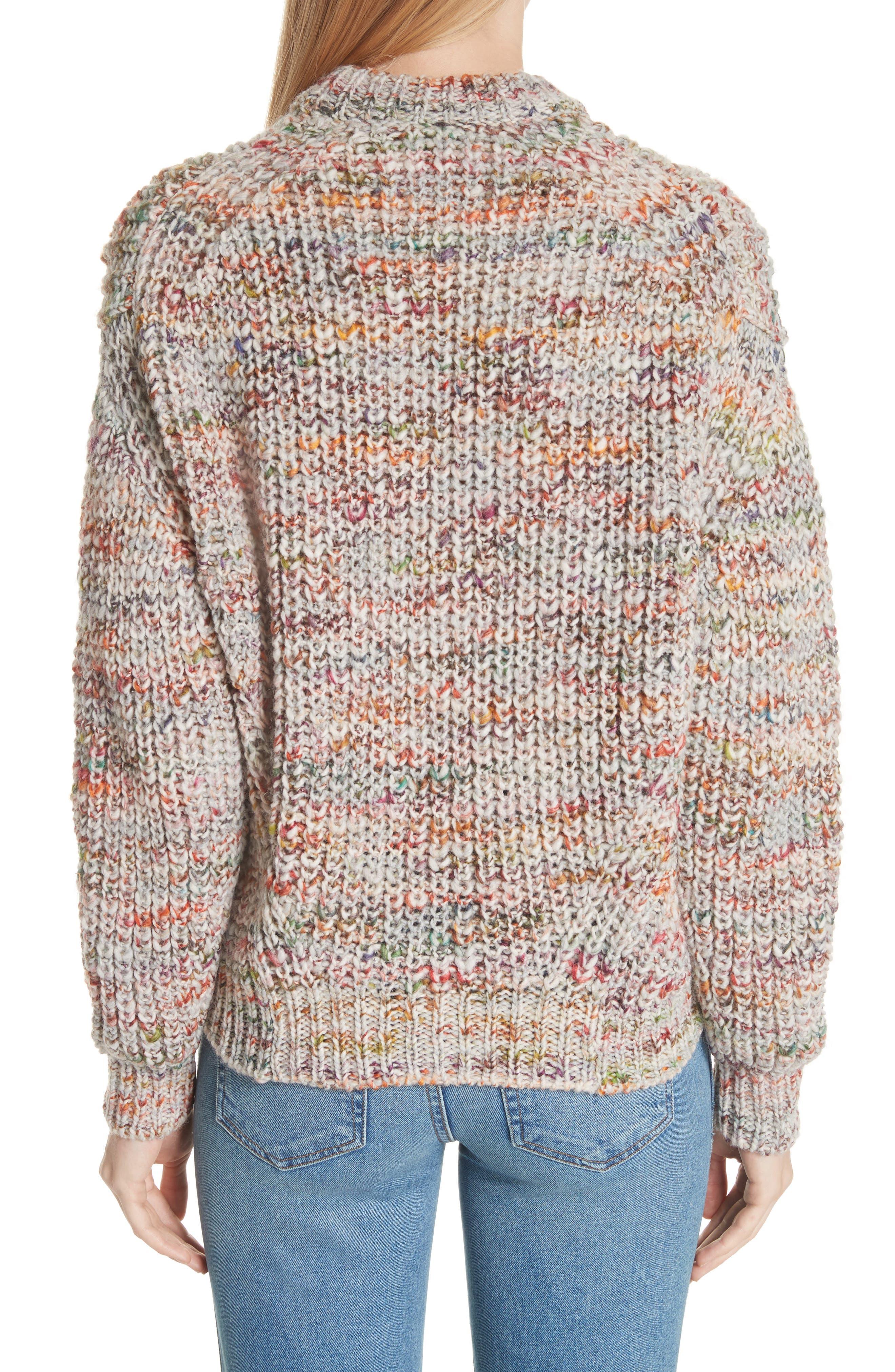 Zora Multi Sweater,                             Alternate thumbnail 2, color,                             100