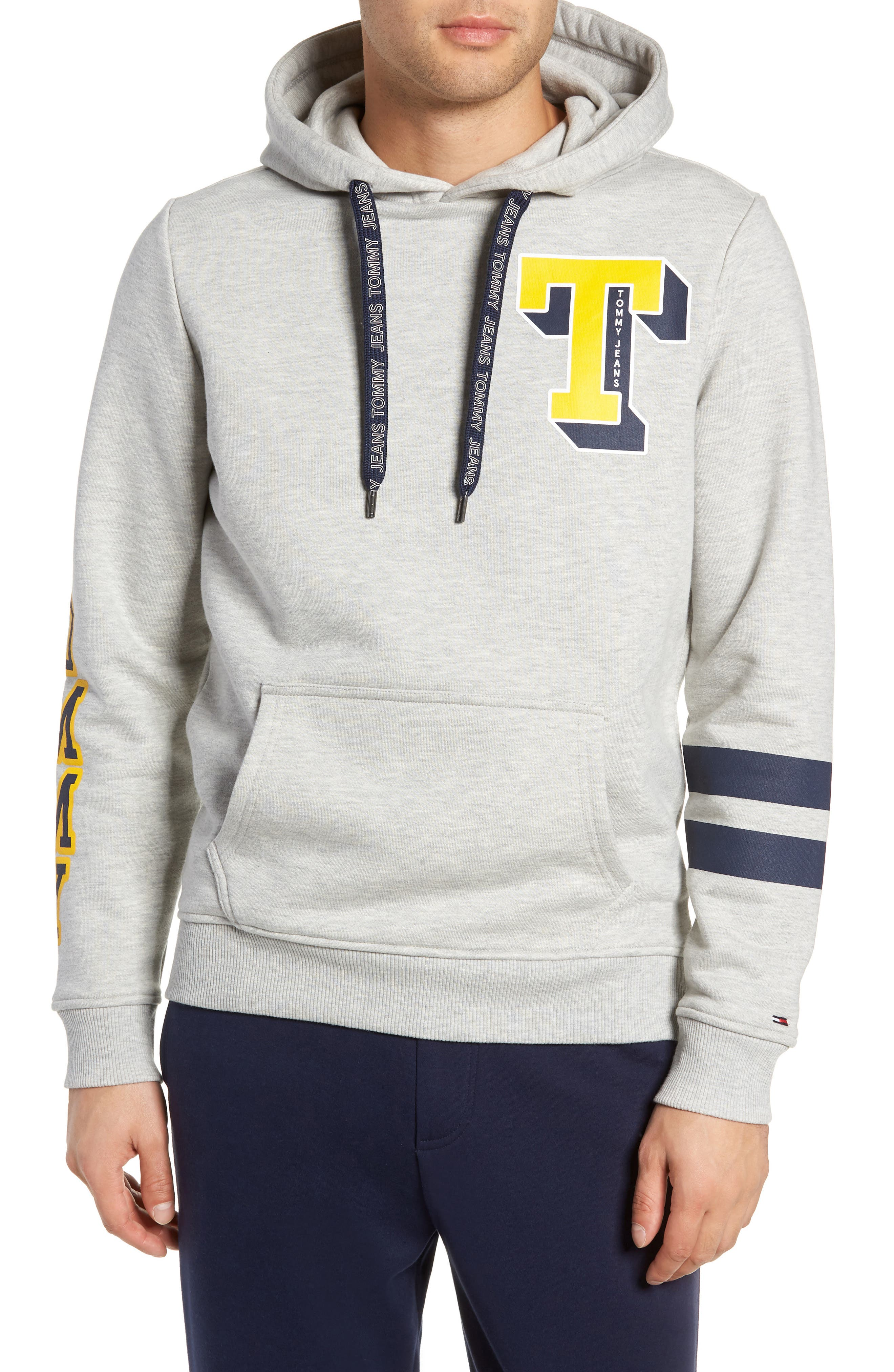 Multihit Graphic Hoodie,                         Main,                         color, LIGHT GREY HEATHER