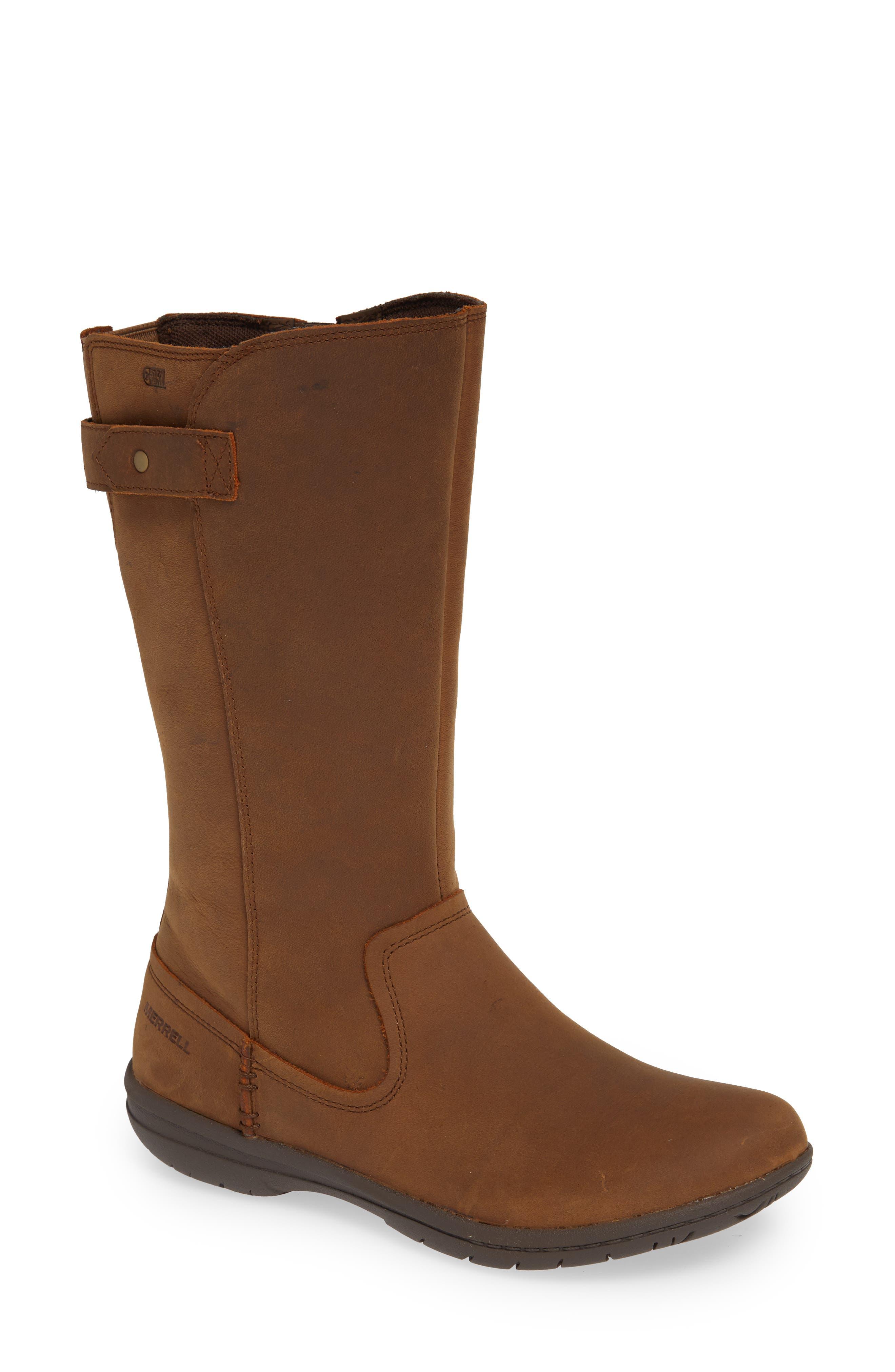 Merrell Encore Kassie Waterproof Boot, Beige