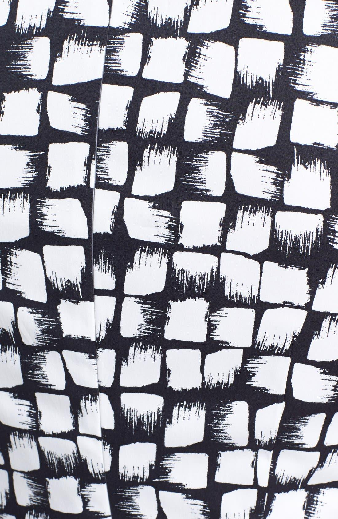 BOSS,                             'Dinoma' Belted Sheath Dress,                             Alternate thumbnail 3, color,                             477