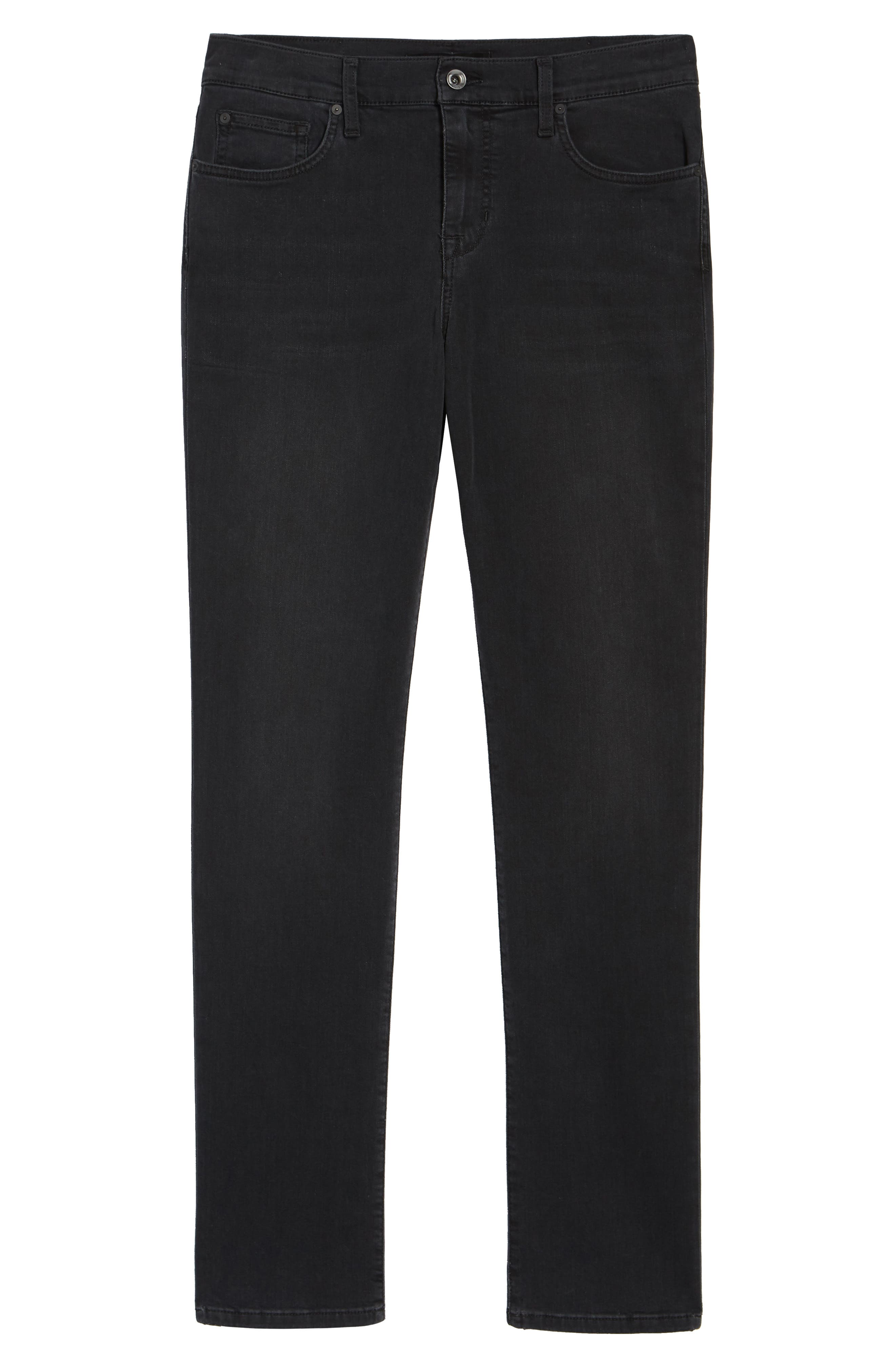 Slim Fit Jeans,                             Alternate thumbnail 6, color,                             001