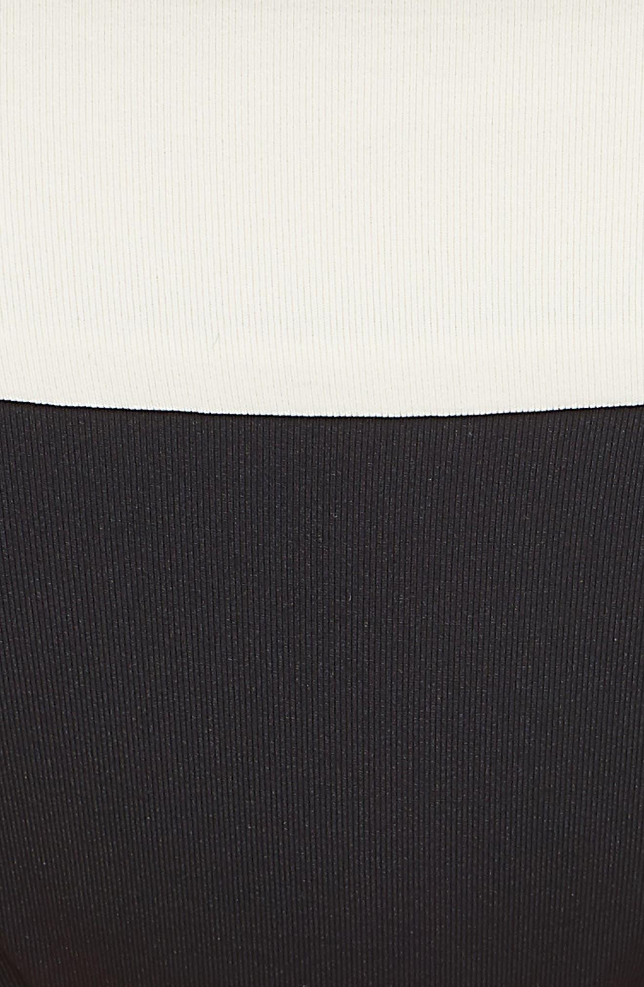 Reversible Bikini Bottom,                             Alternate thumbnail 5, color,                             CREAM/ BLACK/ CAMEL