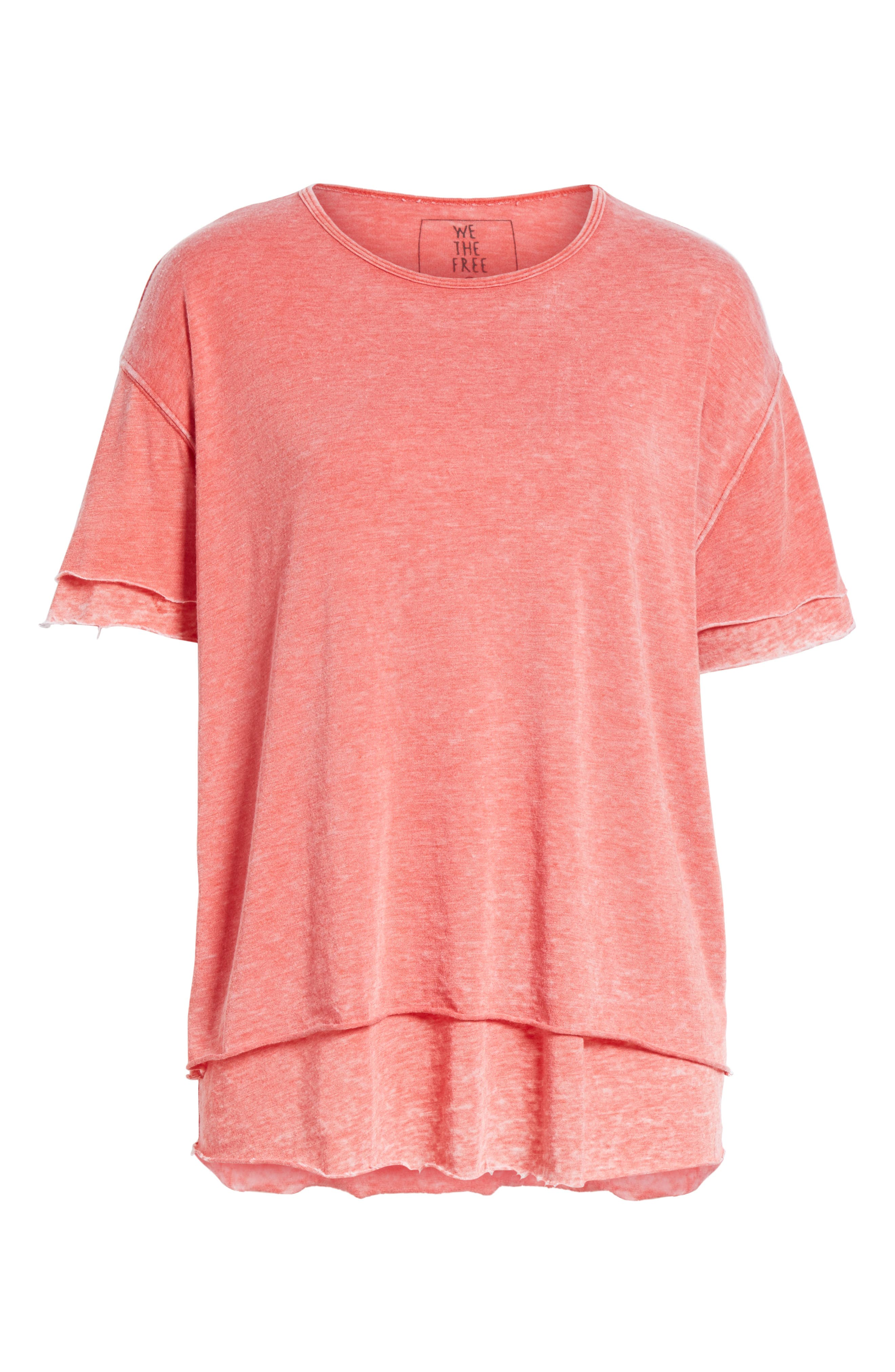 We the Free by Free People Cloud Nine Tee,                             Alternate thumbnail 35, color,