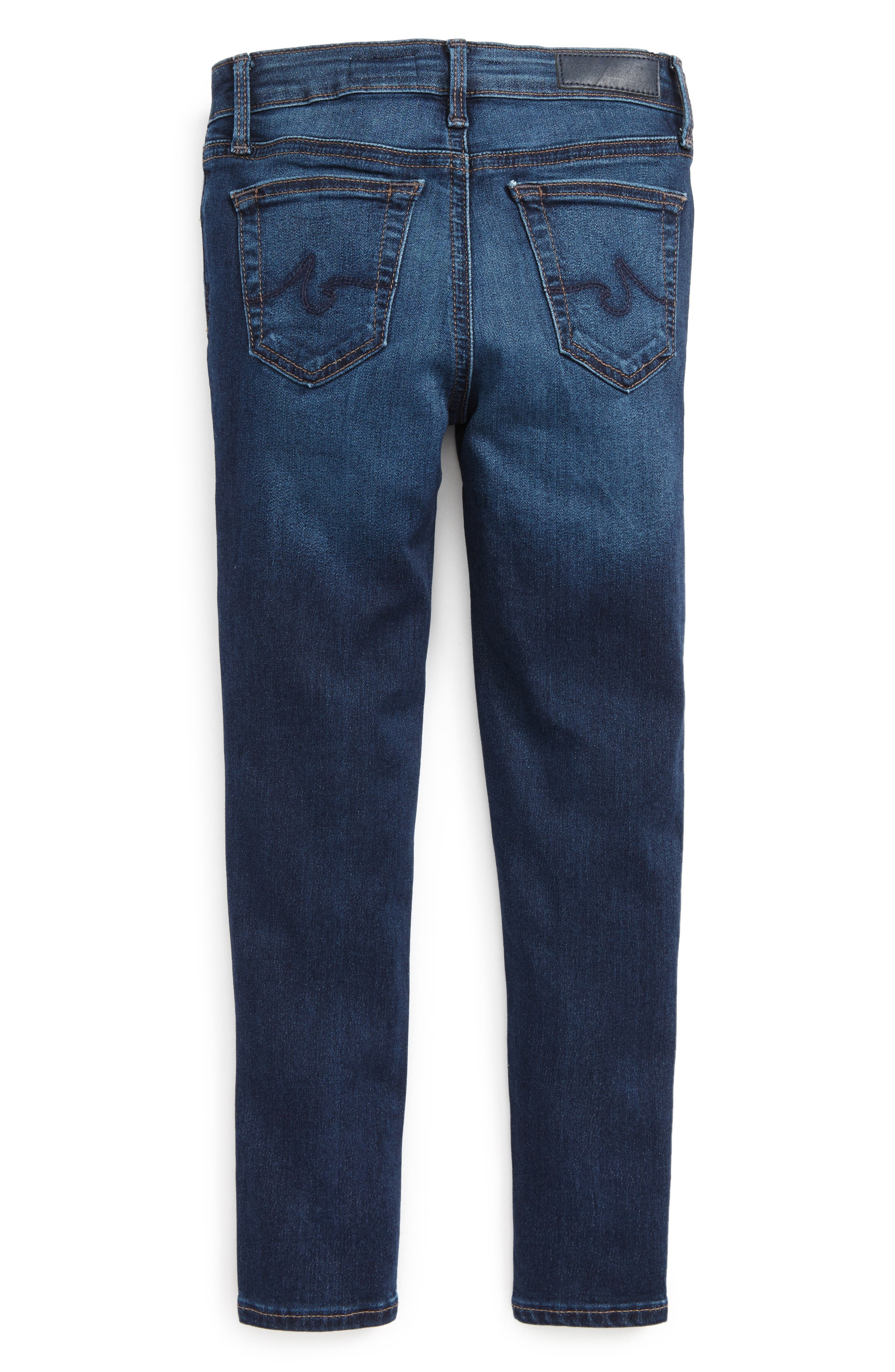 Twiggy Skinny Ankle Jeans,                             Alternate thumbnail 2, color,                             423