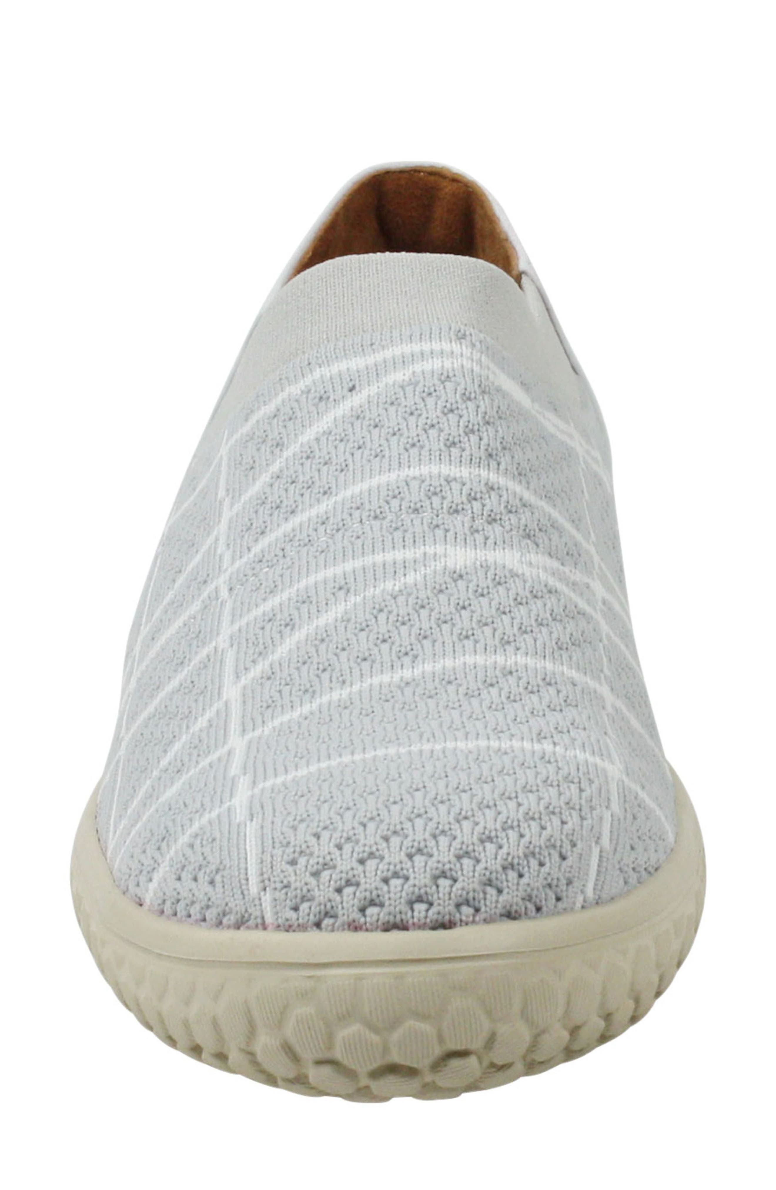 Zohndra Slip-On Sneaker,                             Alternate thumbnail 4, color,                             BEIGE FABRIC