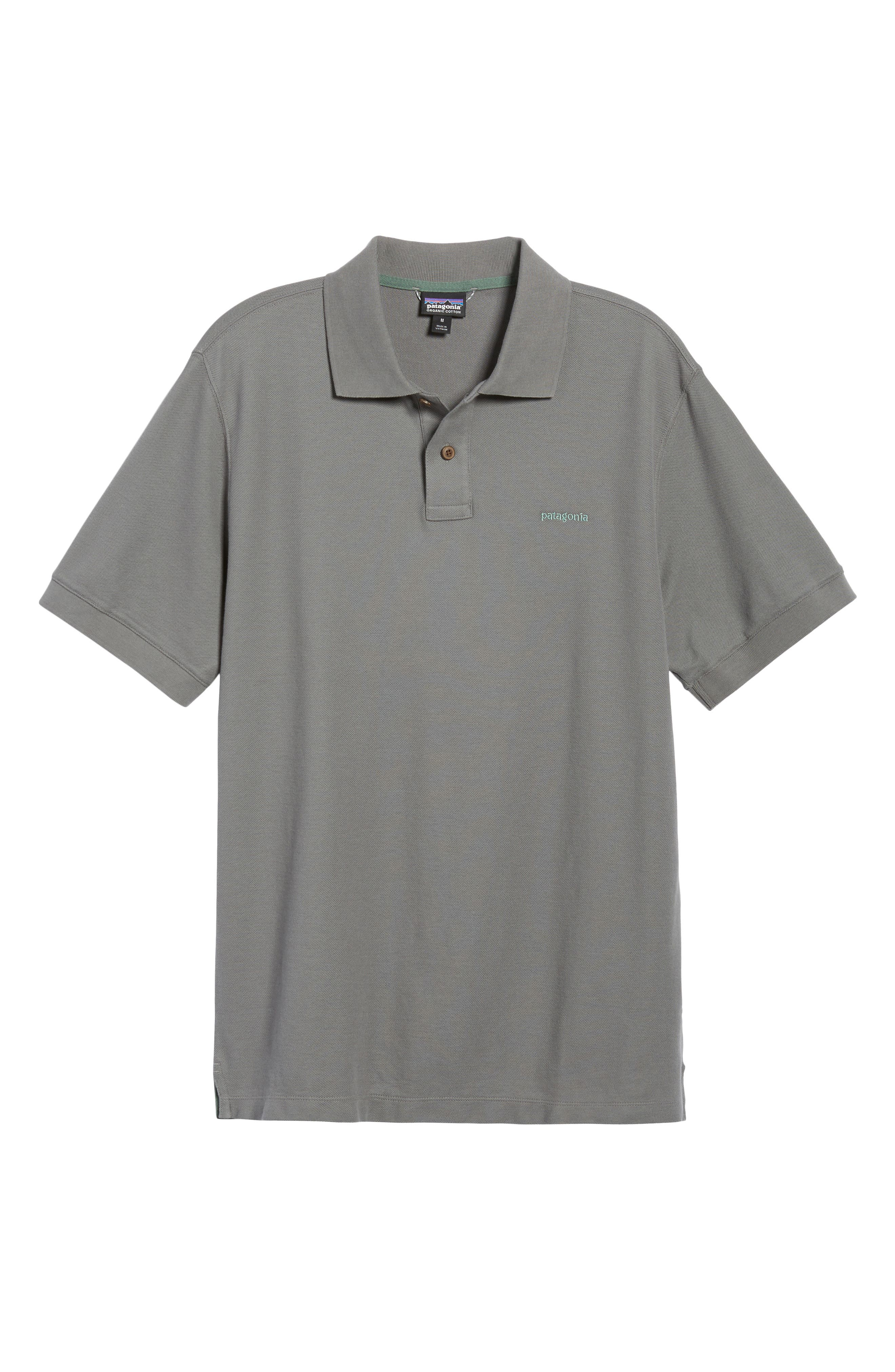 Belwe Relaxed Fit Piqué Polo,                             Alternate thumbnail 6, color,                             021