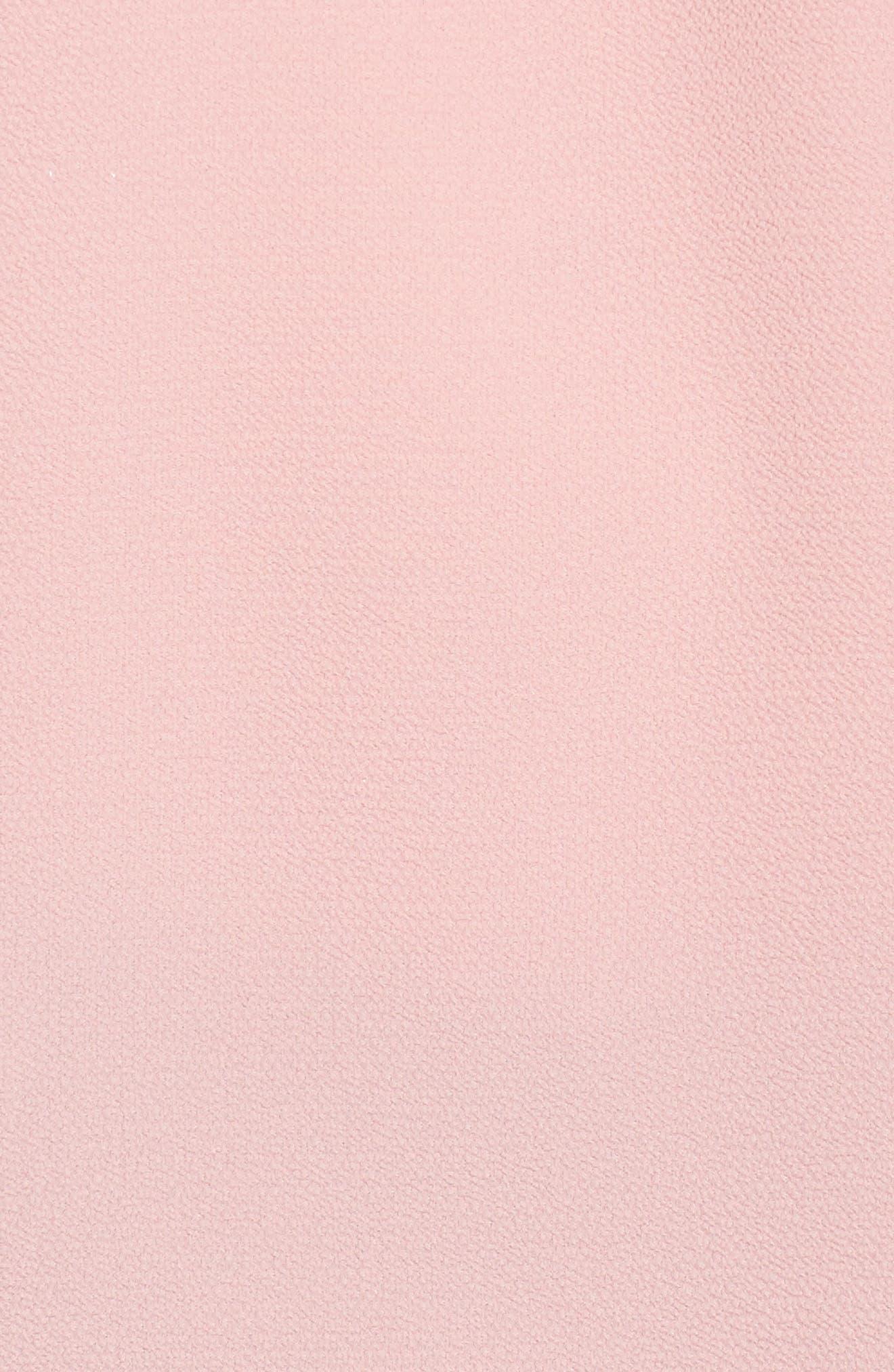 Twist Neck Flutter Sleeve Blouse,                             Alternate thumbnail 10, color,