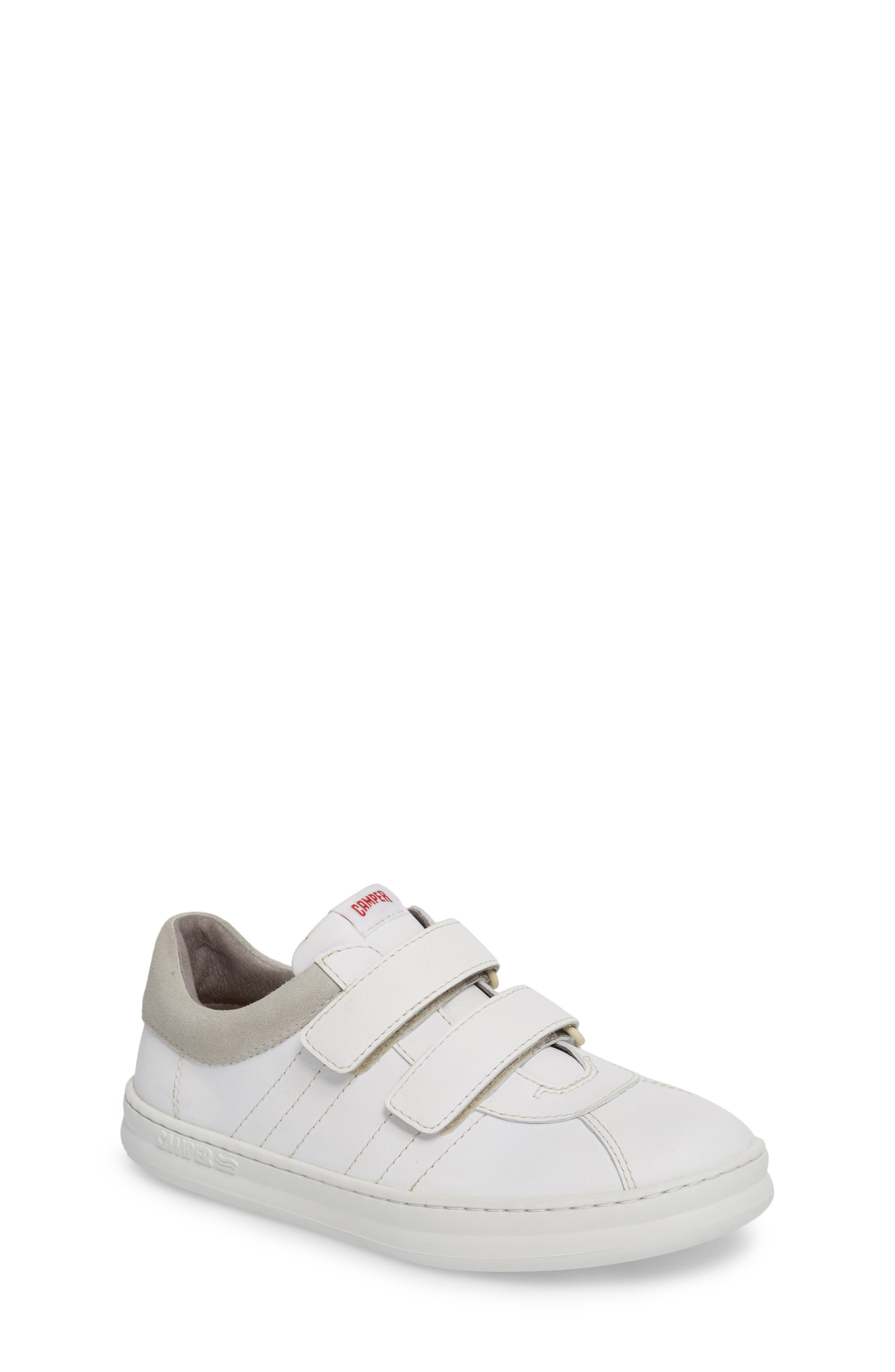 Runner Sneaker,                         Main,                         color, WHITE