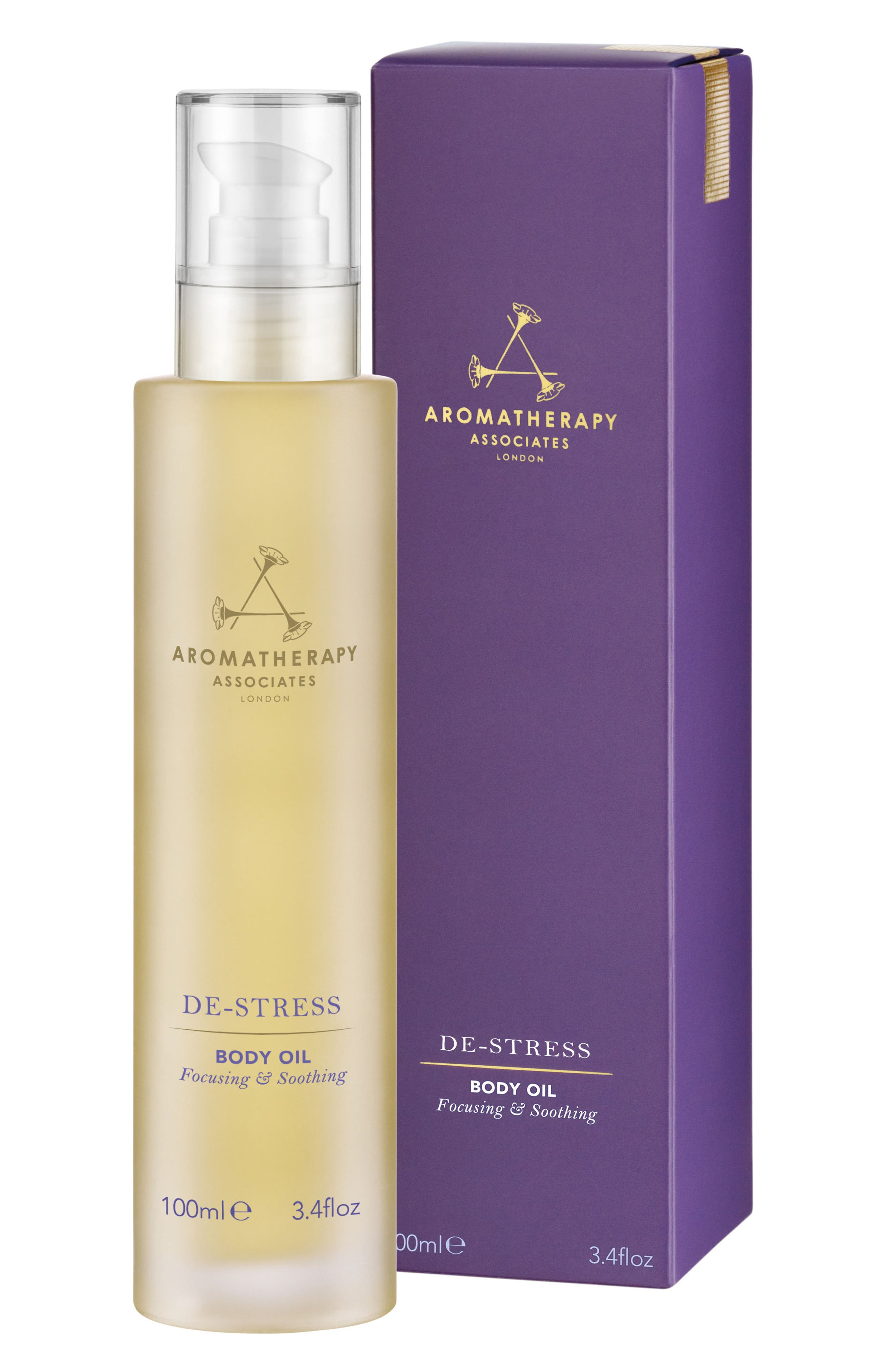 AROMATHERAPY ASSOCIATES Relax Body Oil, Main, color, DE-STRESS