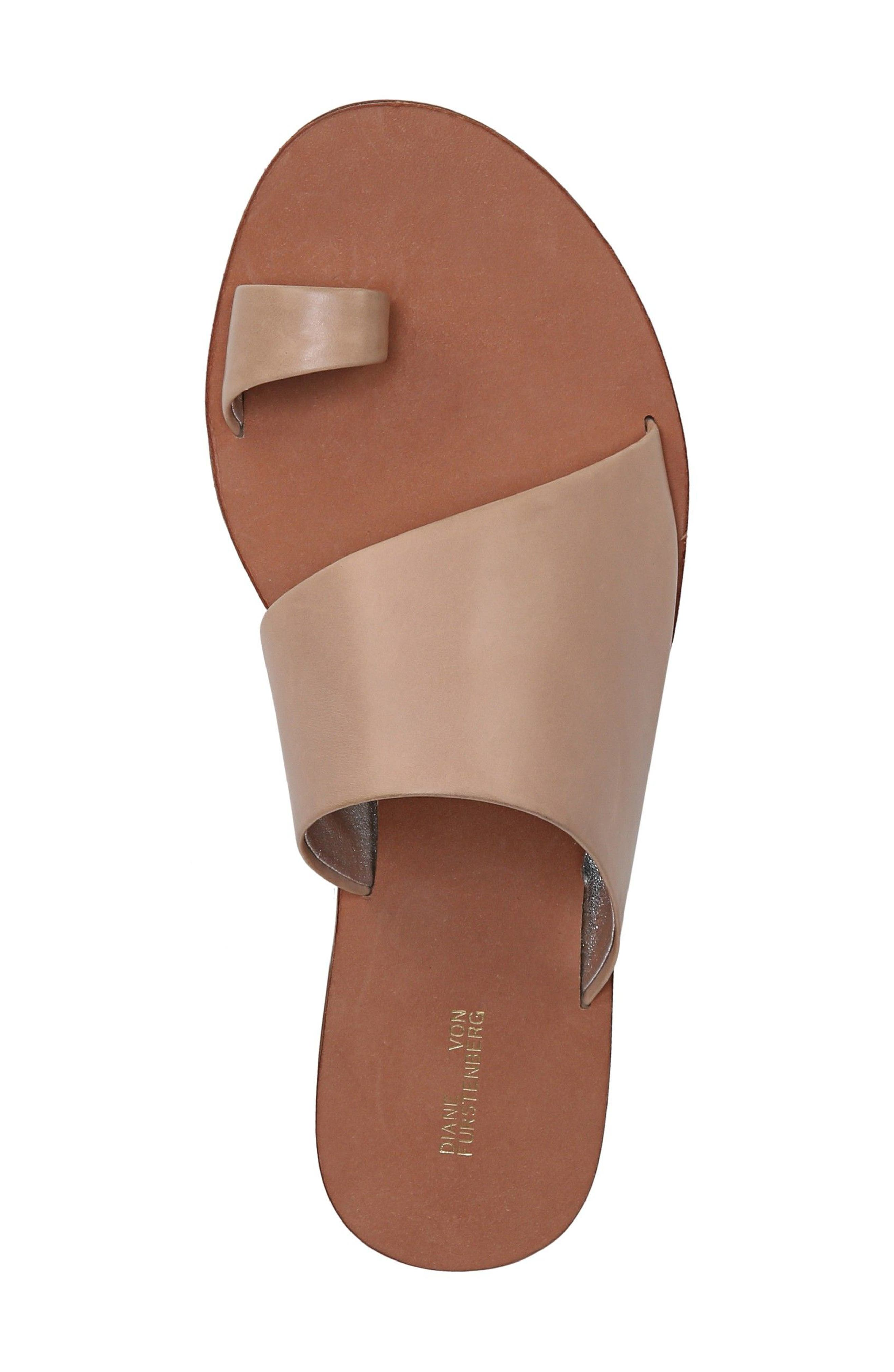 Brittany Asymmetrical Flat Sandal,                             Alternate thumbnail 5, color,                             202
