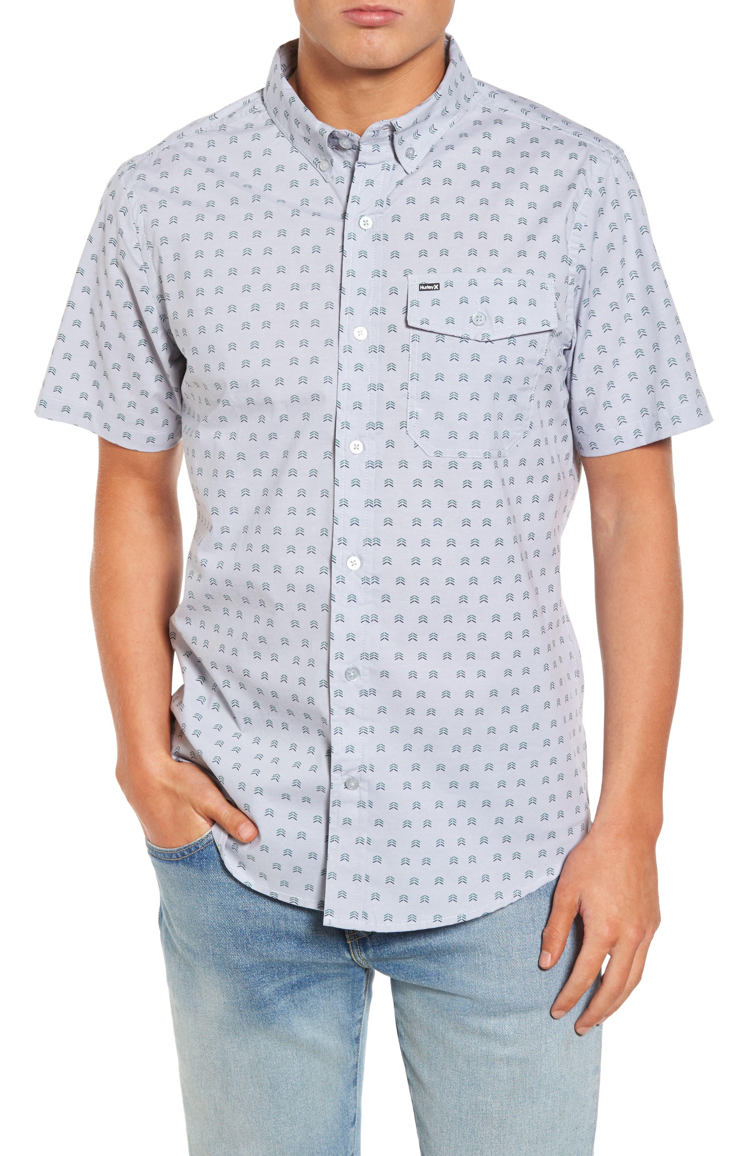 Brooks Woven Shirt,                             Main thumbnail 1, color,                             059