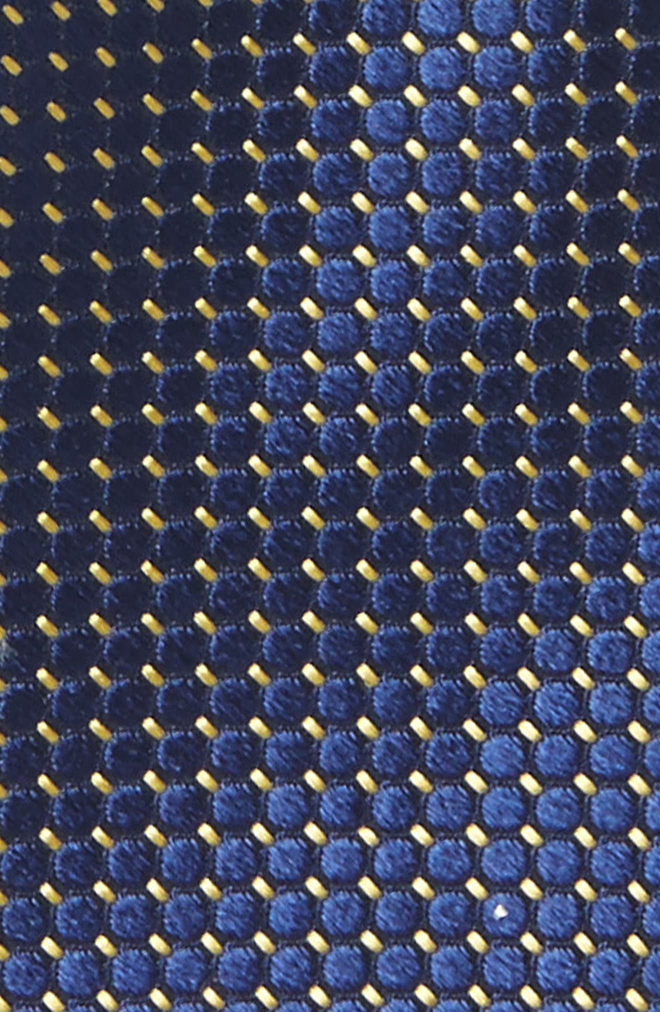 Dot Grid Silk Tie,                             Alternate thumbnail 2, color,                             410