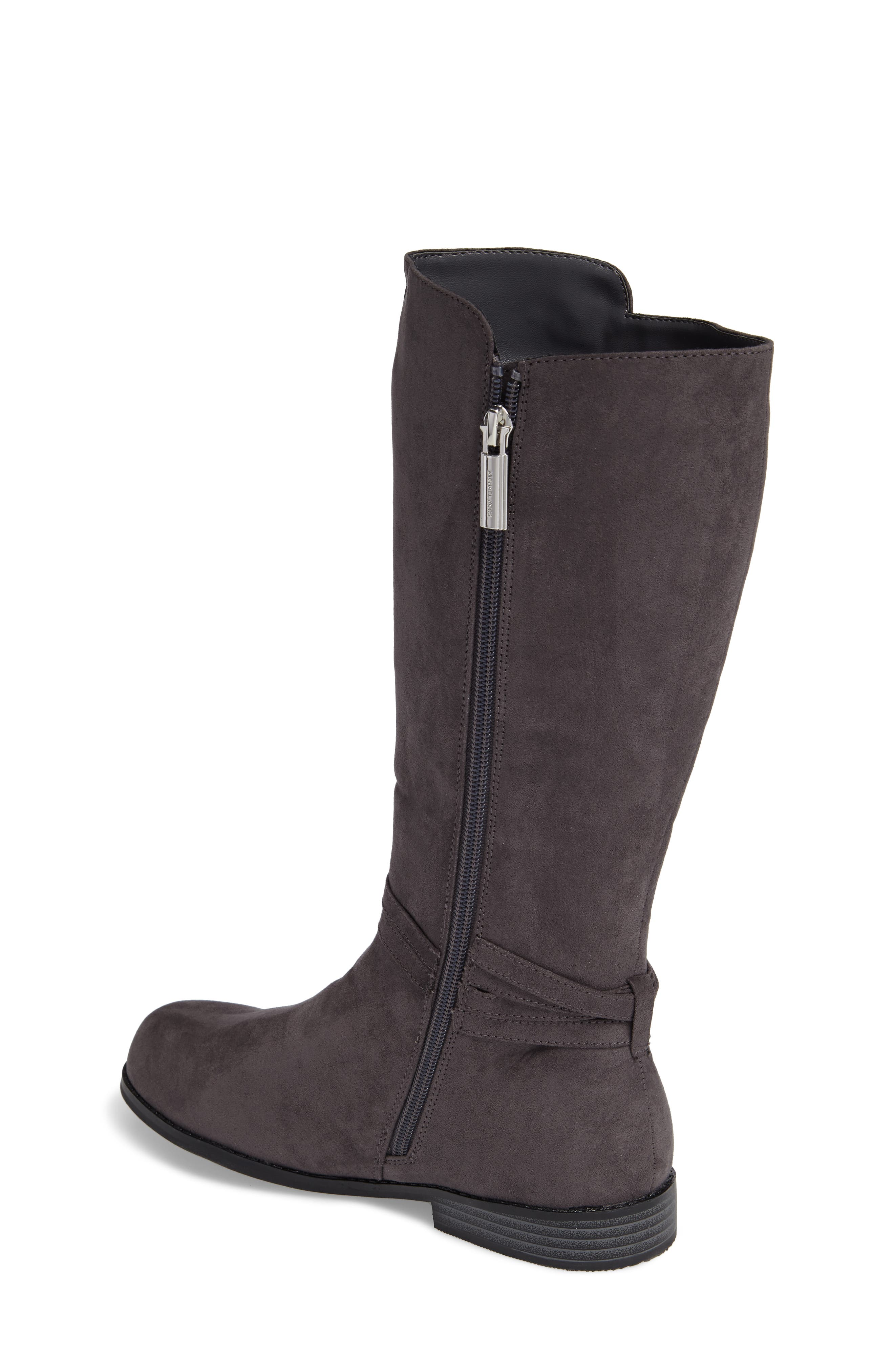 Emma Carter Knotted Boot,                             Alternate thumbnail 2, color,                             051