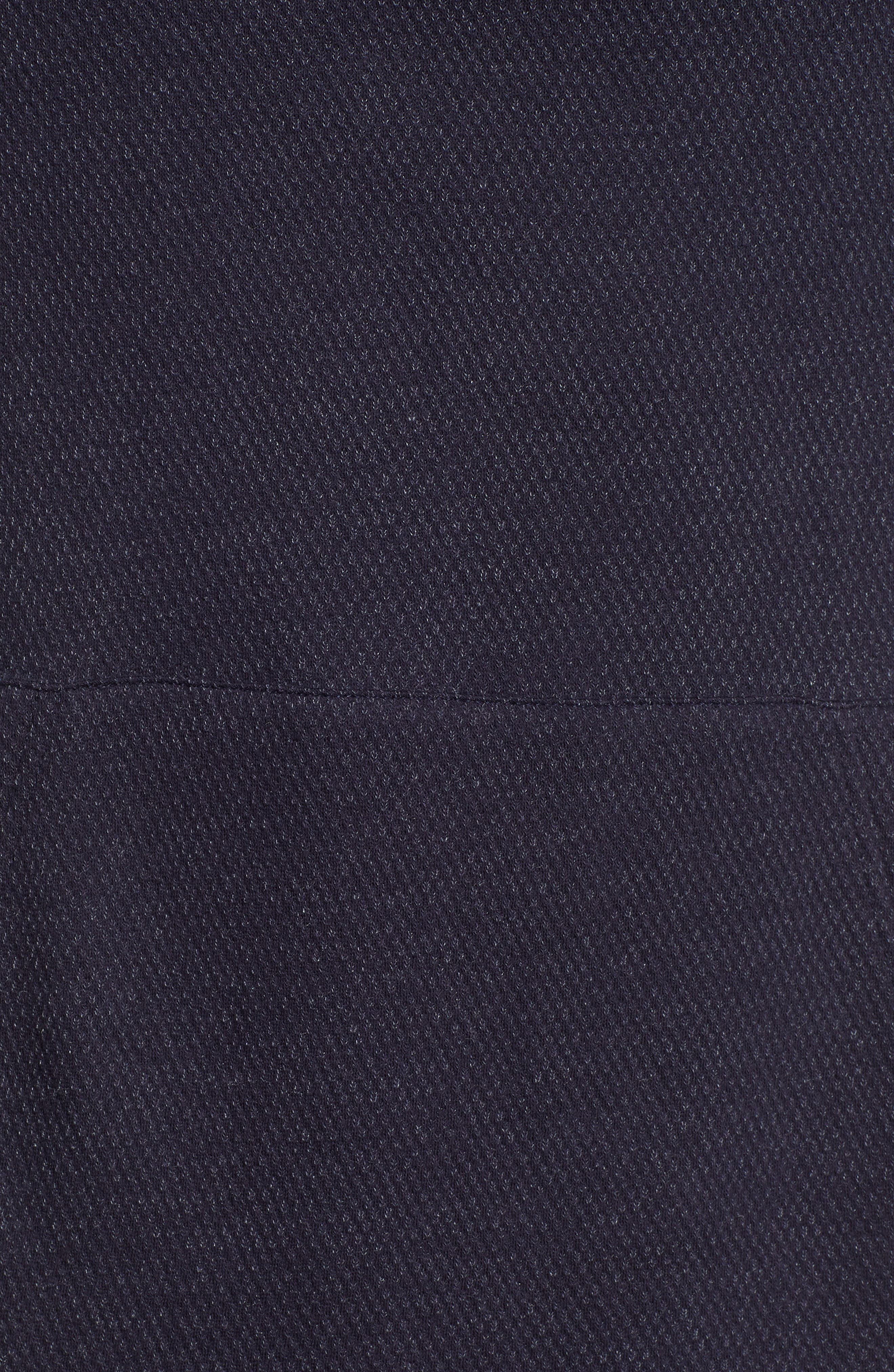 Lupo Pullover Hoodie,                             Alternate thumbnail 5, color,                             NEW NAVY