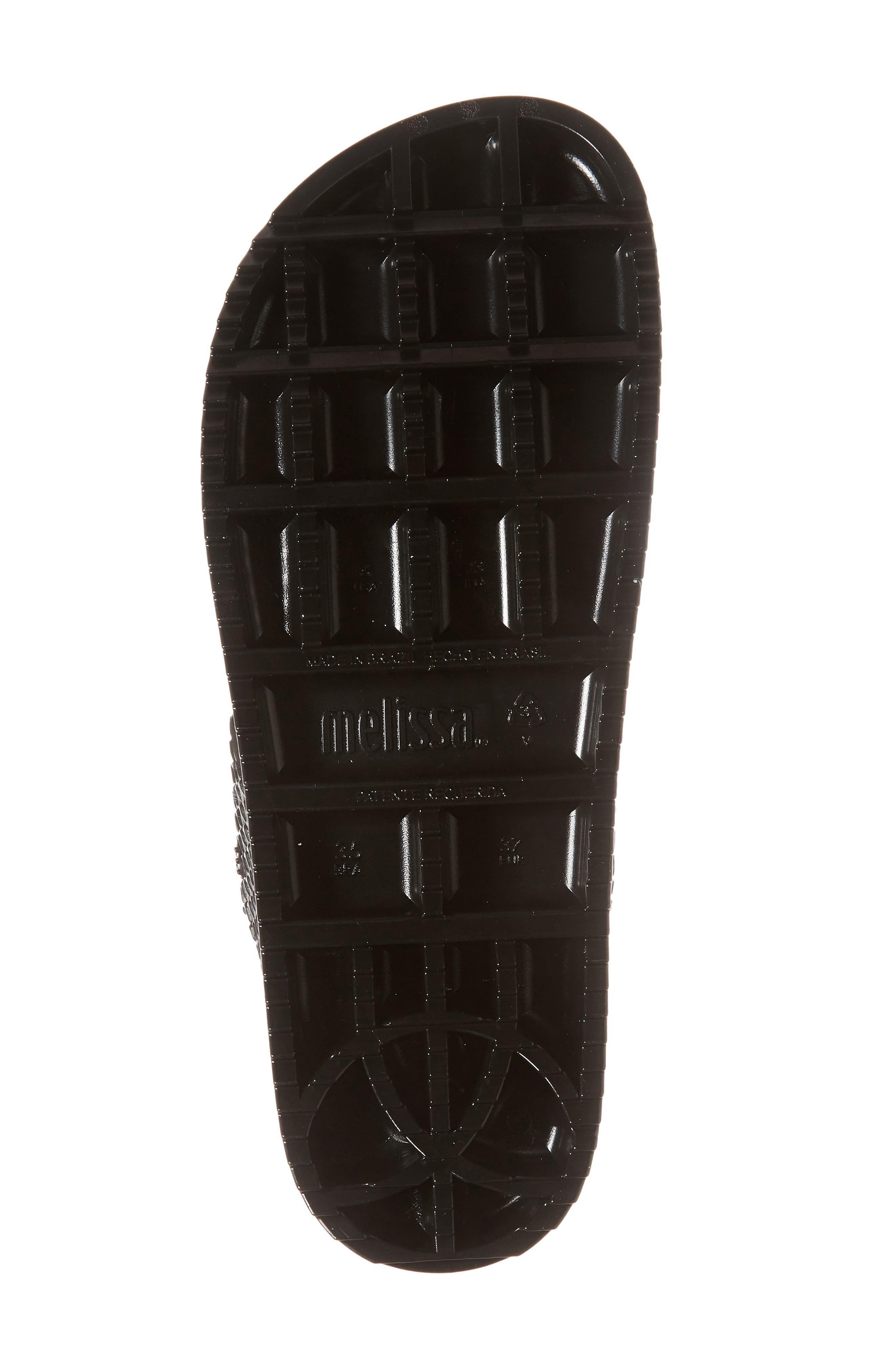 Cosmic Python Baja Slide Sandal,                             Alternate thumbnail 6, color,                             001