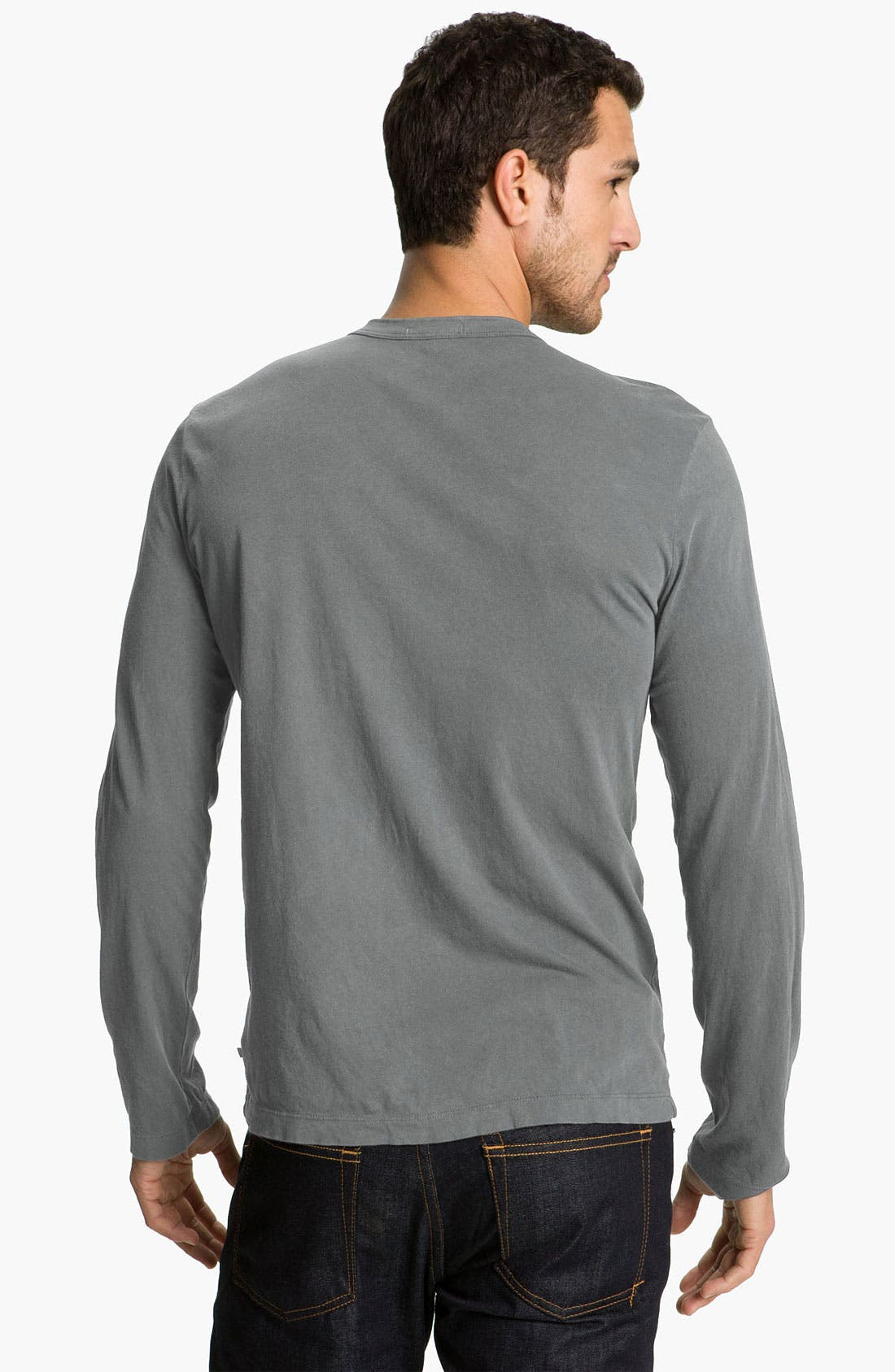 Long Sleeve Crewneck T-Shirt,                             Alternate thumbnail 50, color,